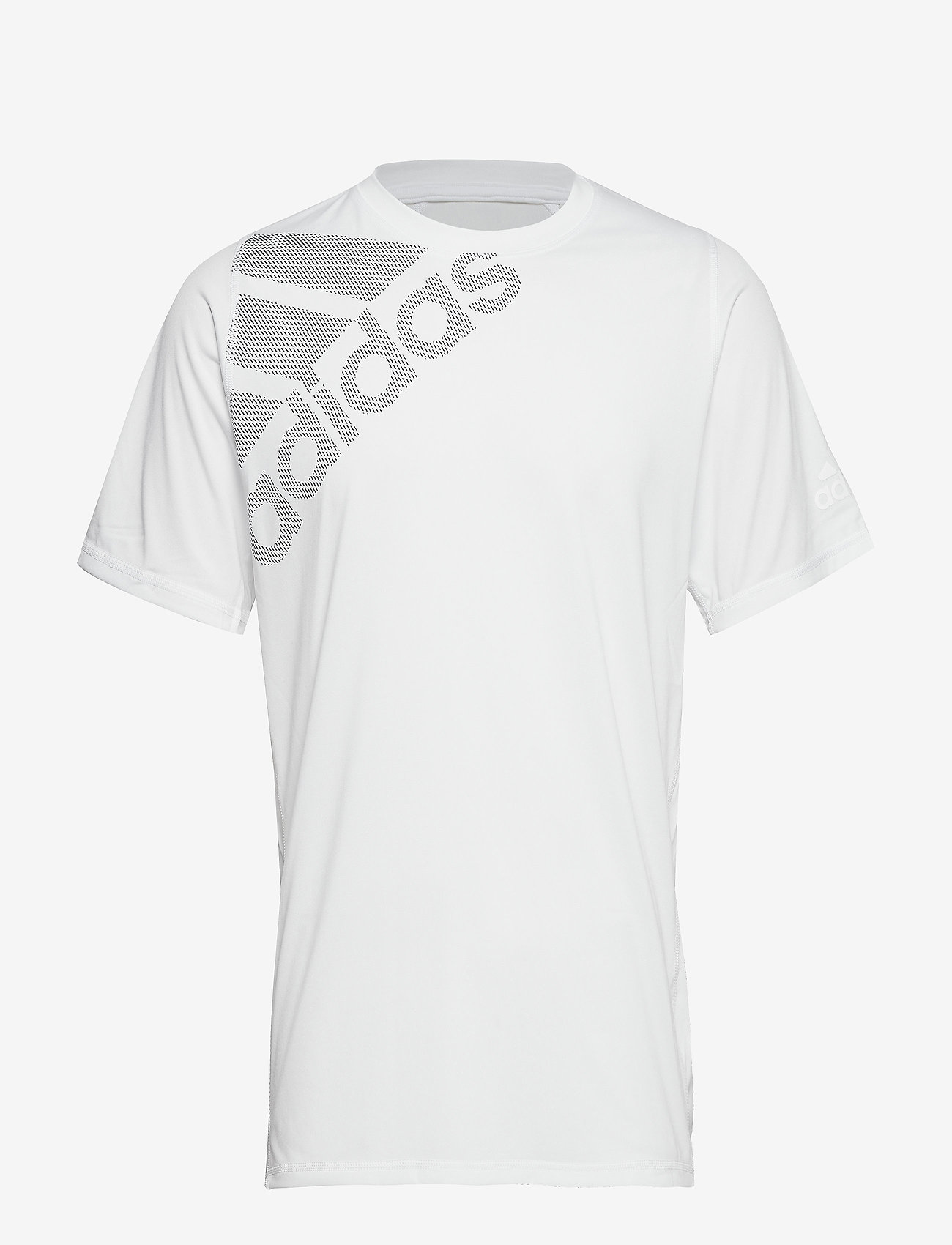 adidas Performance - FreeLift Badge of Sport Graphic T-Shirt - oberteile & t-shirts - white - 1