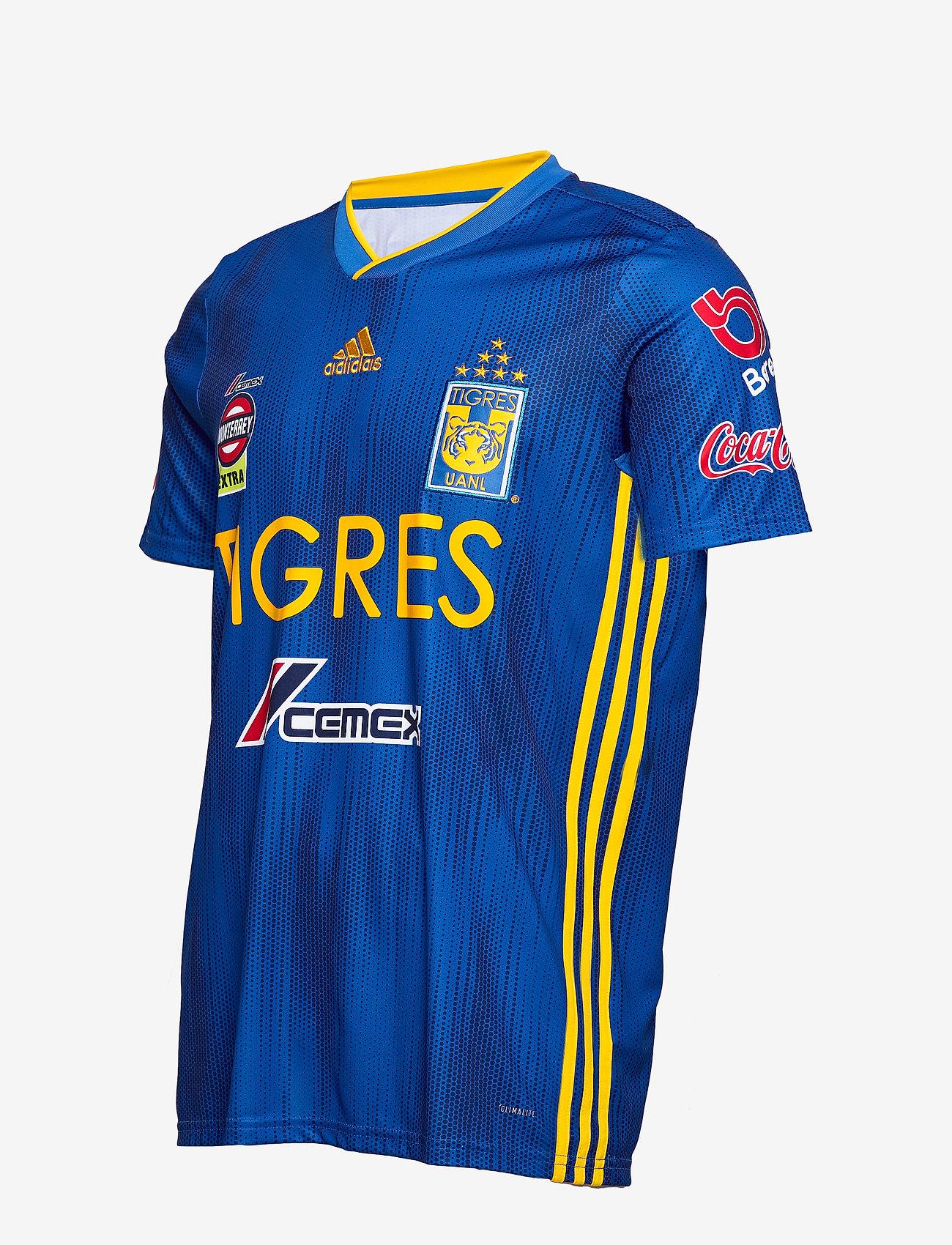 Adidas Performance Tuanl A Jsy - T-shirts Blue/cogold