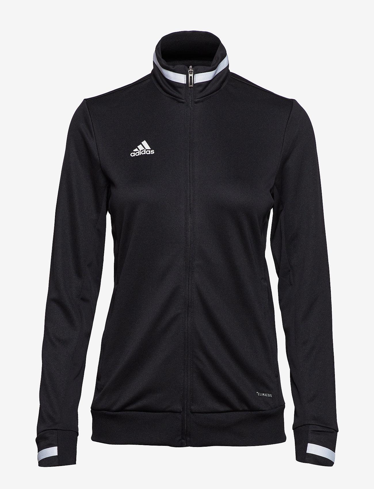 adidas Performance - Team 19 Track Jacket W - sweatshirts - black/white - 0