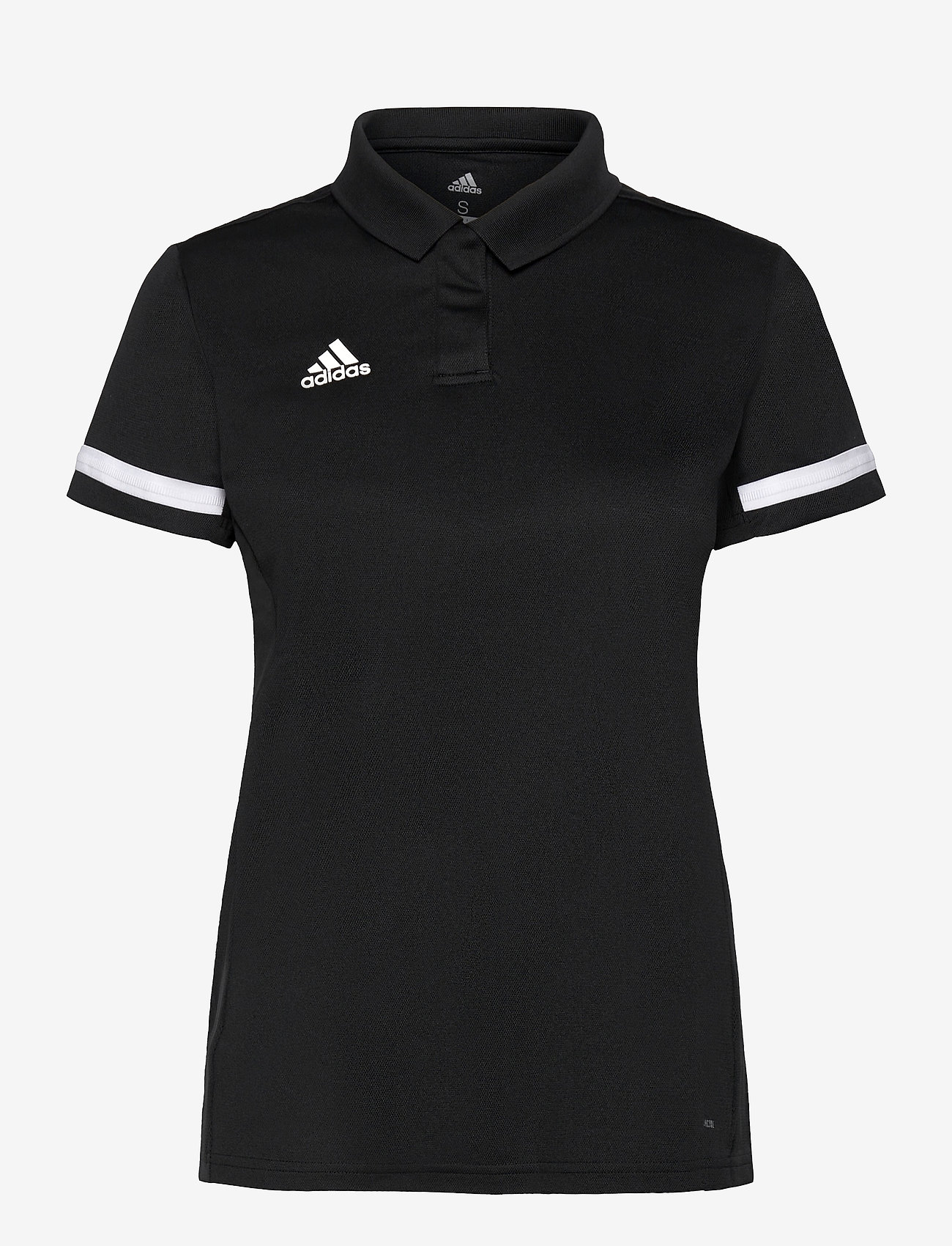 adidas Performance - Team 19 Polo Shirt W - voetbalshirts - black/white - 0