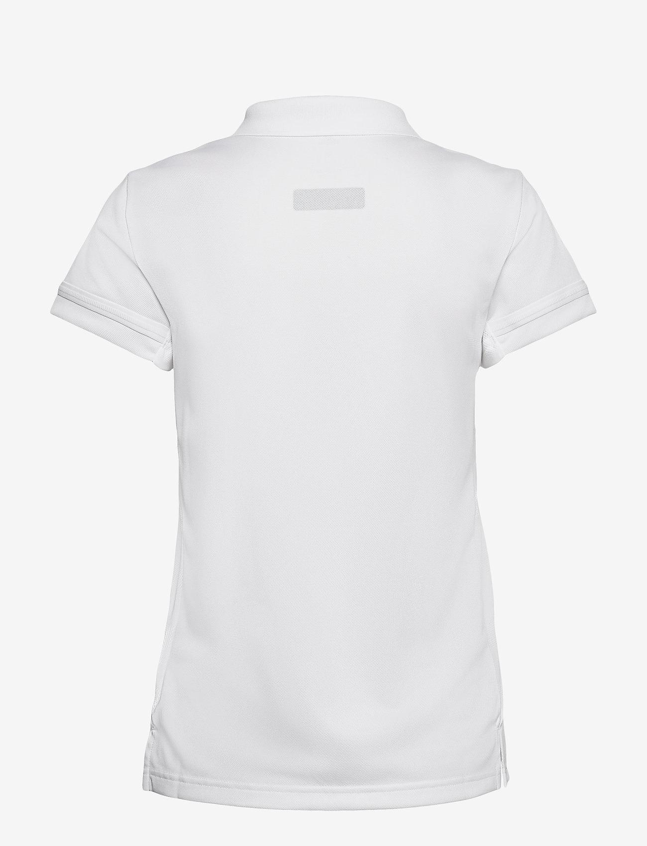 adidas Performance - Team 19 Polo Shirt W - voetbalshirts - white - 1