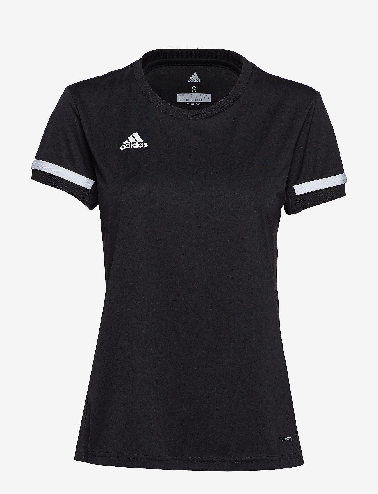adidas Performance - Team 19 Jersey W - football shirts - black - 1