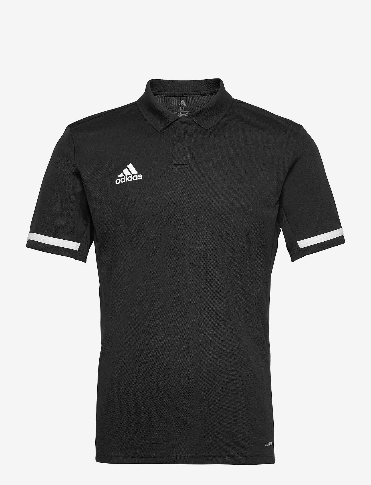 adidas Performance - Team 19 Polo Shirt - kortærmede - black/white - 0