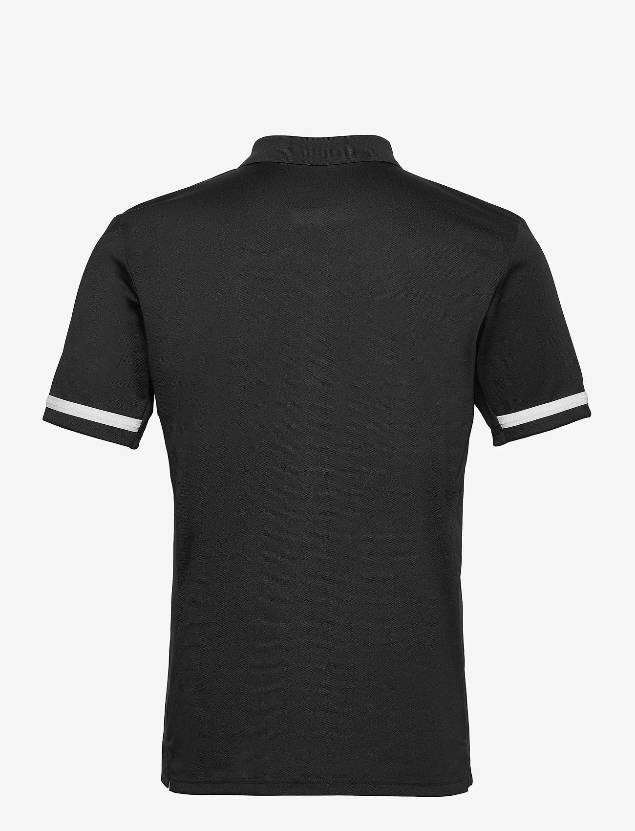 adidas Performance - Team 19 Polo Shirt - kortærmede - black/white - 1
