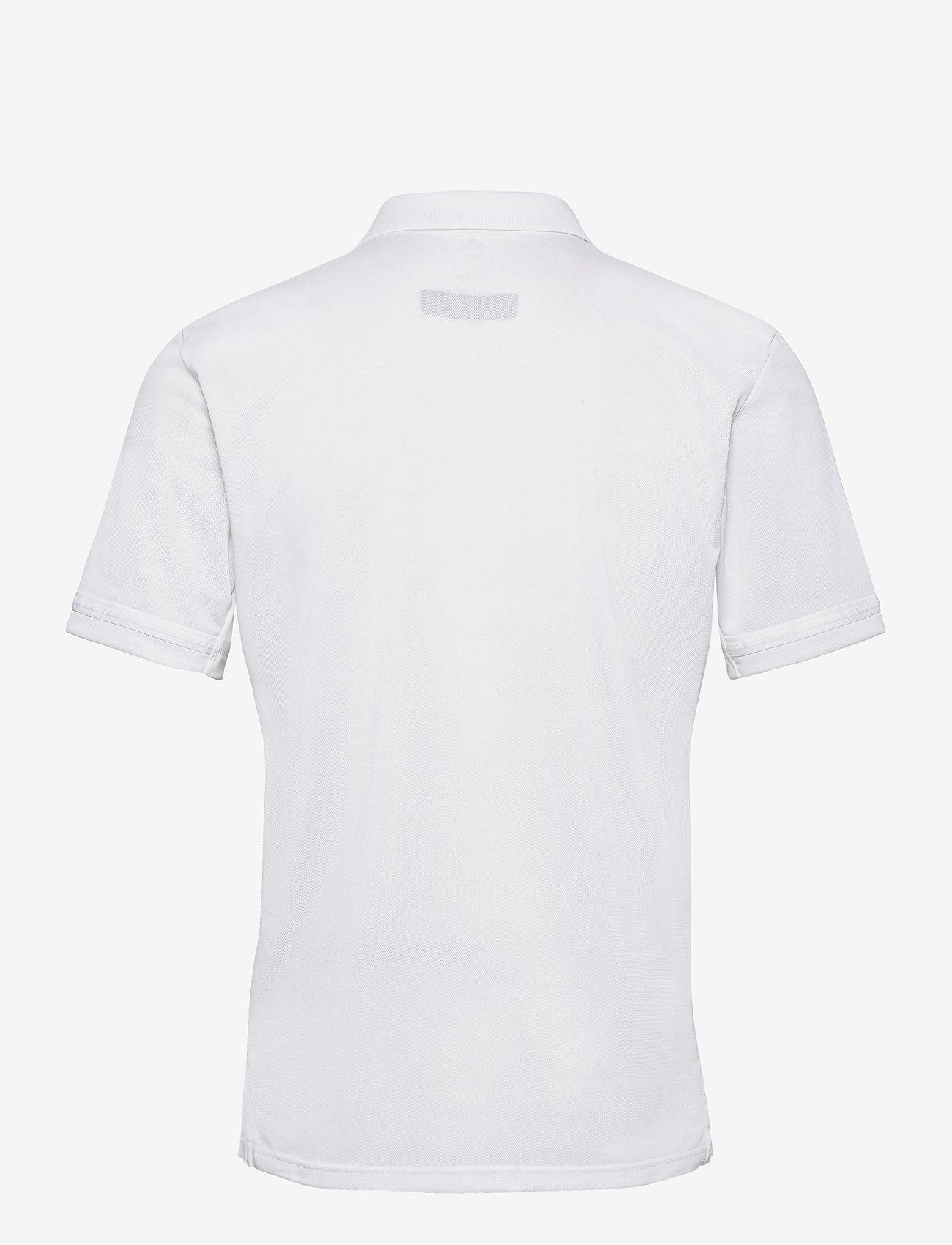 adidas Performance - Team 19 Polo Shirt - kortærmede - white - 1