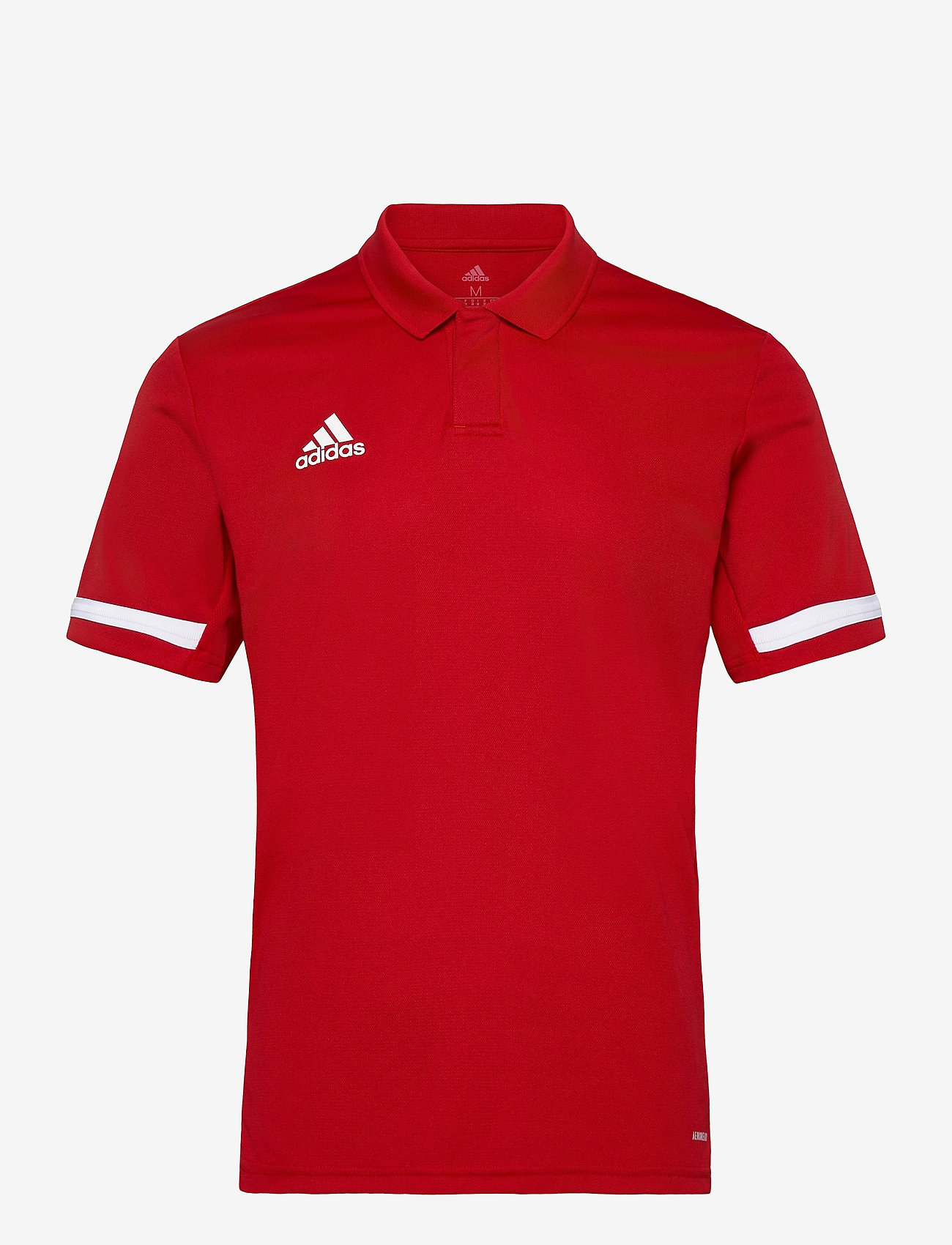adidas Performance - Team 19 Polo Shirt - kurzärmelig - powred/white - 0