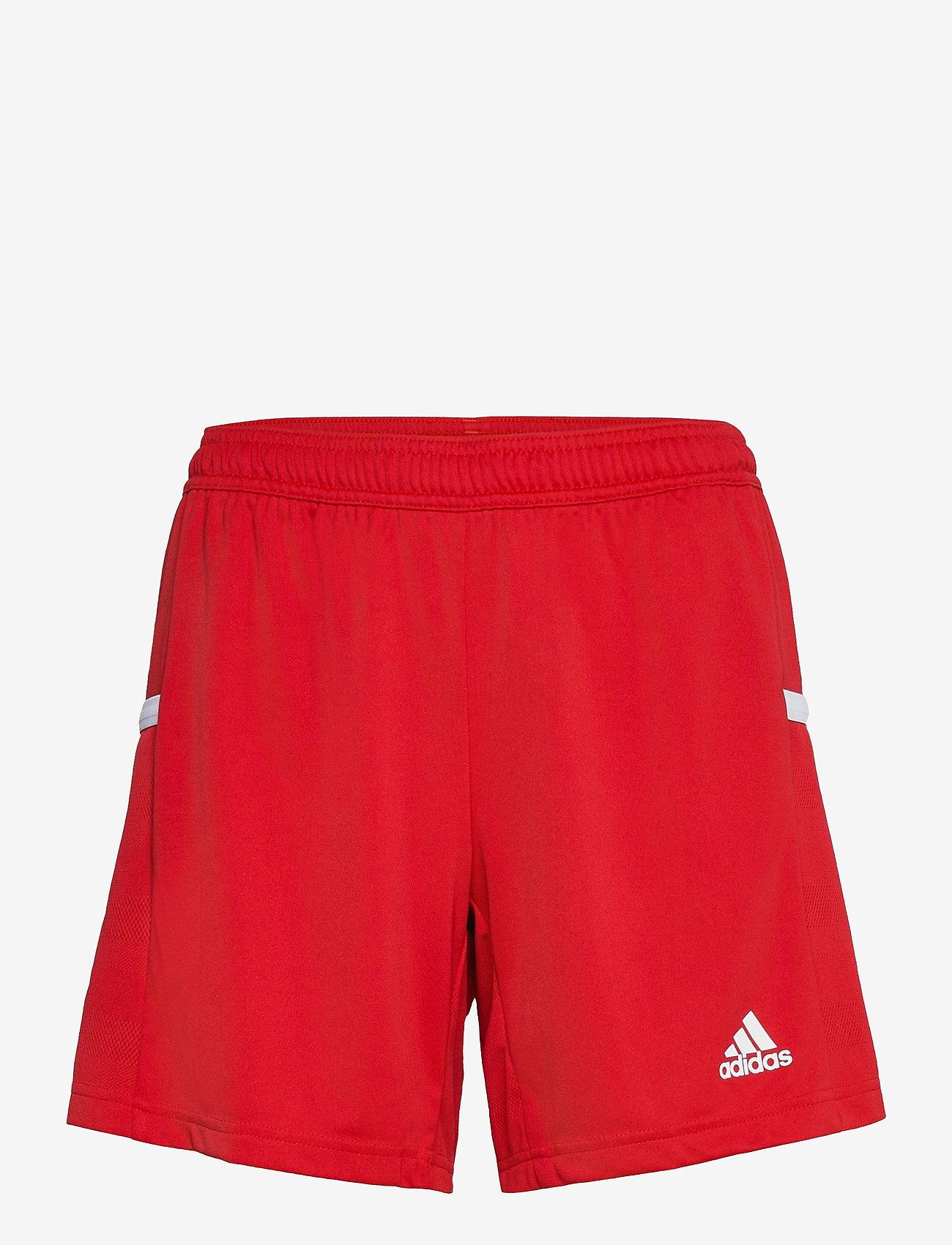 adidas Performance - Team 19 Shorts W - træningsshorts - powred/white - 0