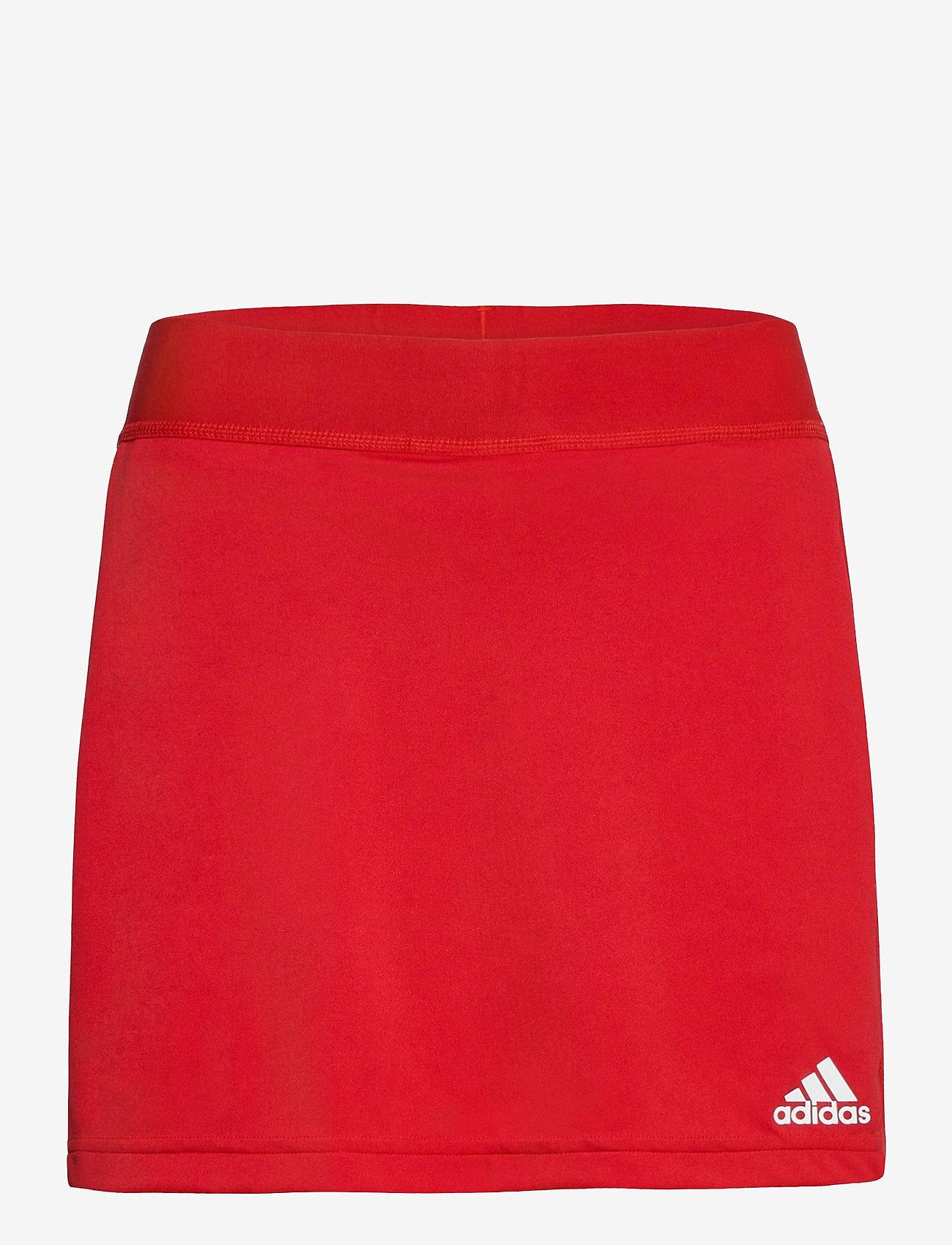 adidas Performance - Team 19 Skort W - træningsnederdele - powred/white - 0