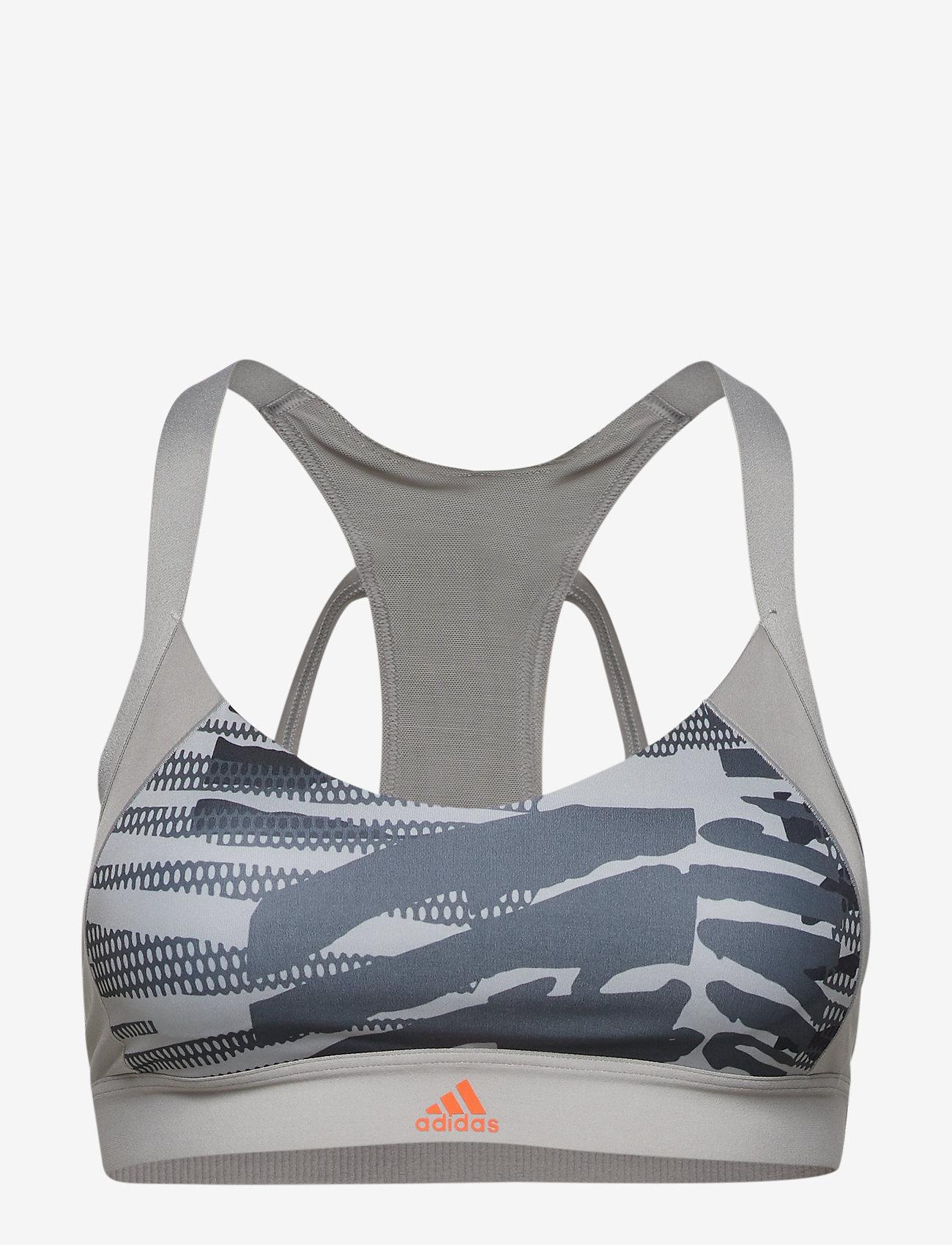 adidas Performance - AM AI Q3 BRA - sport bras: low - mgsogr/print - 1