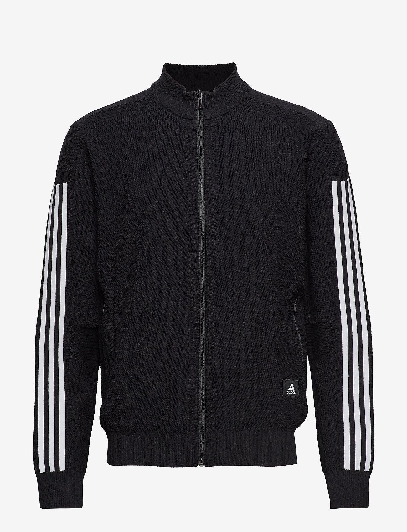 adidas Performance - M ID Knit TT - track jackets - black - 0