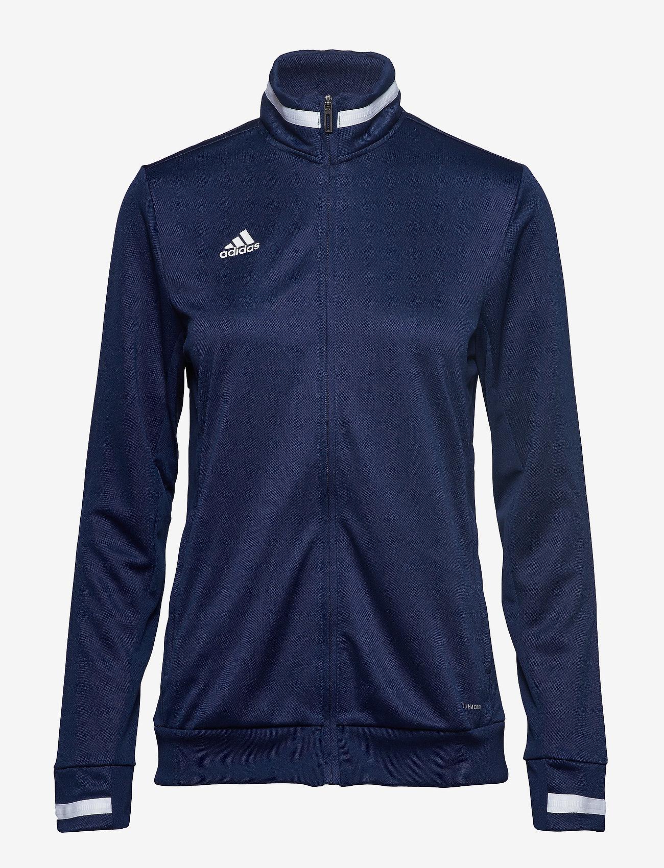 adidas Performance - Team 19 Track Jacket W - sweatshirts - navblu/white - 0