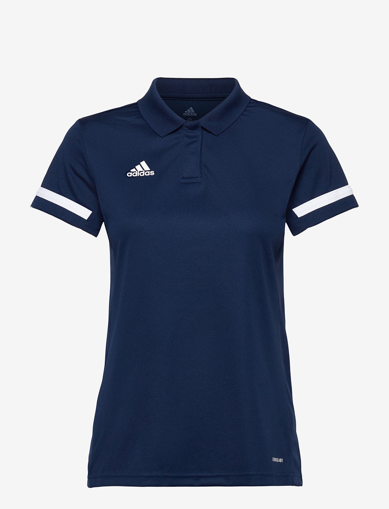 adidas Performance - Team 19 Polo Shirt W - voetbalshirts - navblu/white - 0