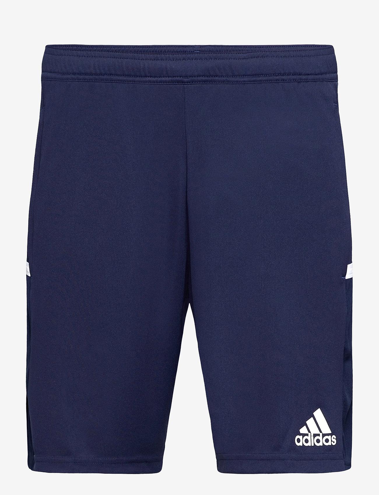 adidas Performance - Team 19 3-Pocket Shorts - treningsshorts - navblu/white - 0