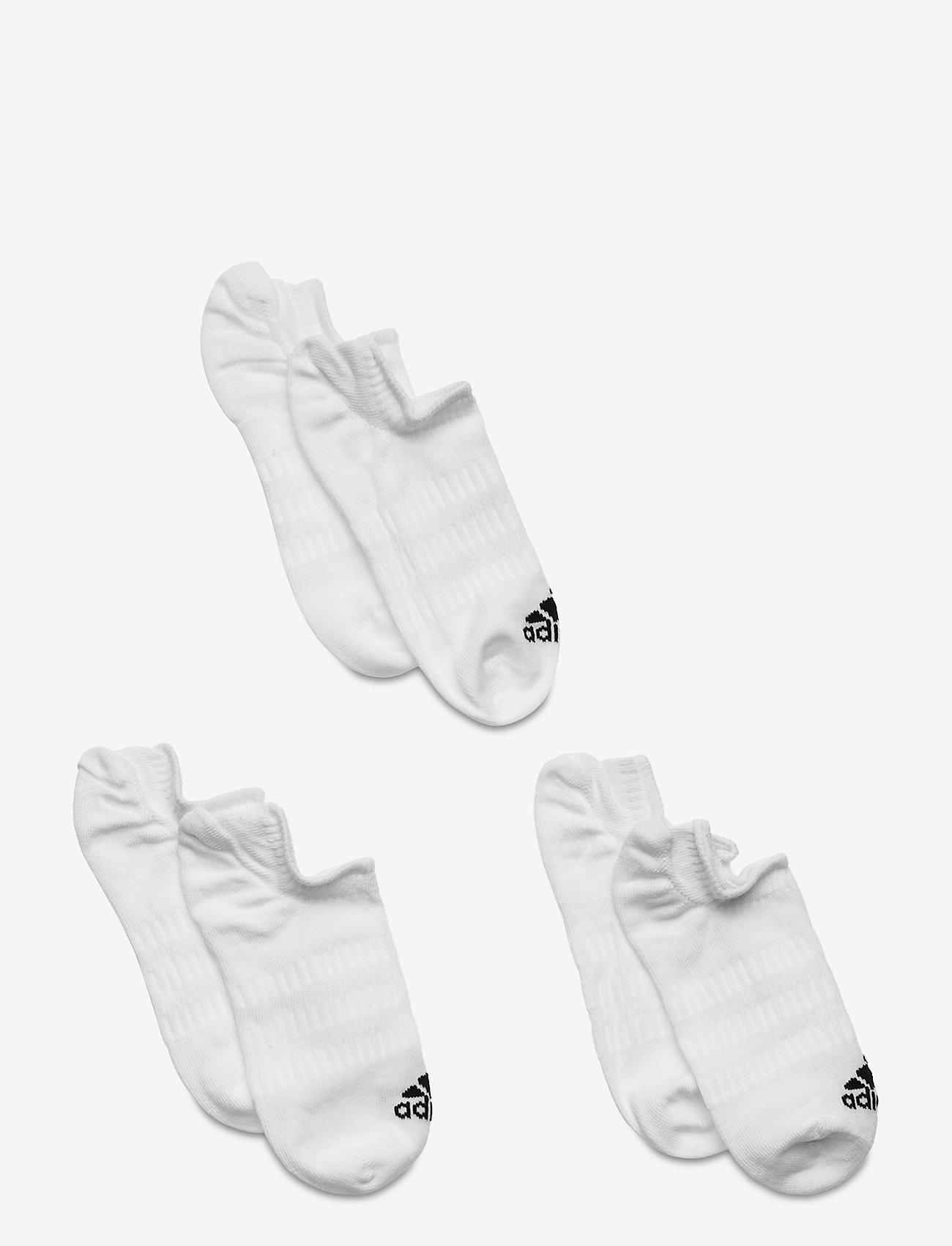adidas Performance - No-Show Socks 3 Pairs - skarpetki - 000/white - 0
