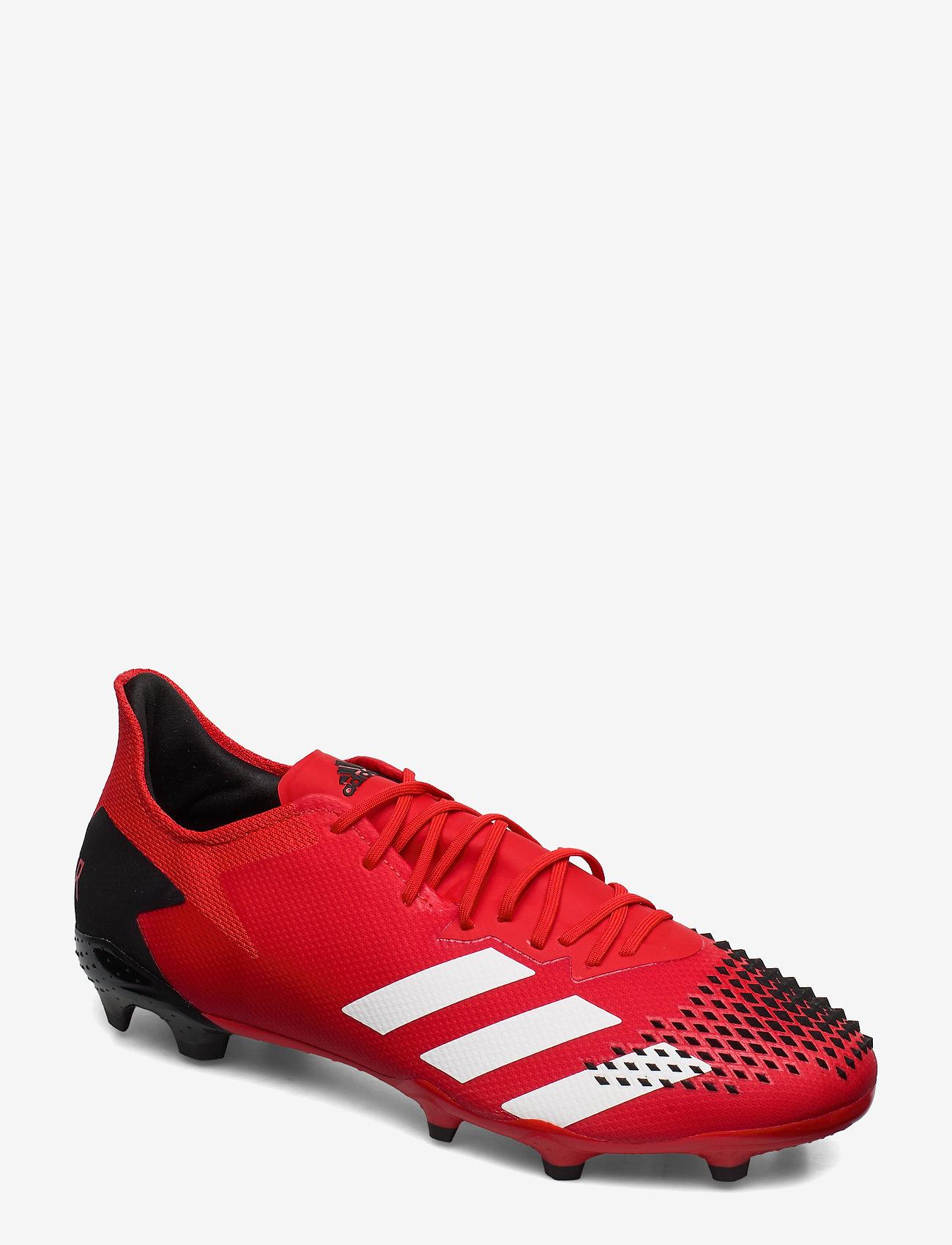 adidas Performance - PREDATOR 20.2 FG - jalkapallokengät - actred/ftwwht/cblack - 0