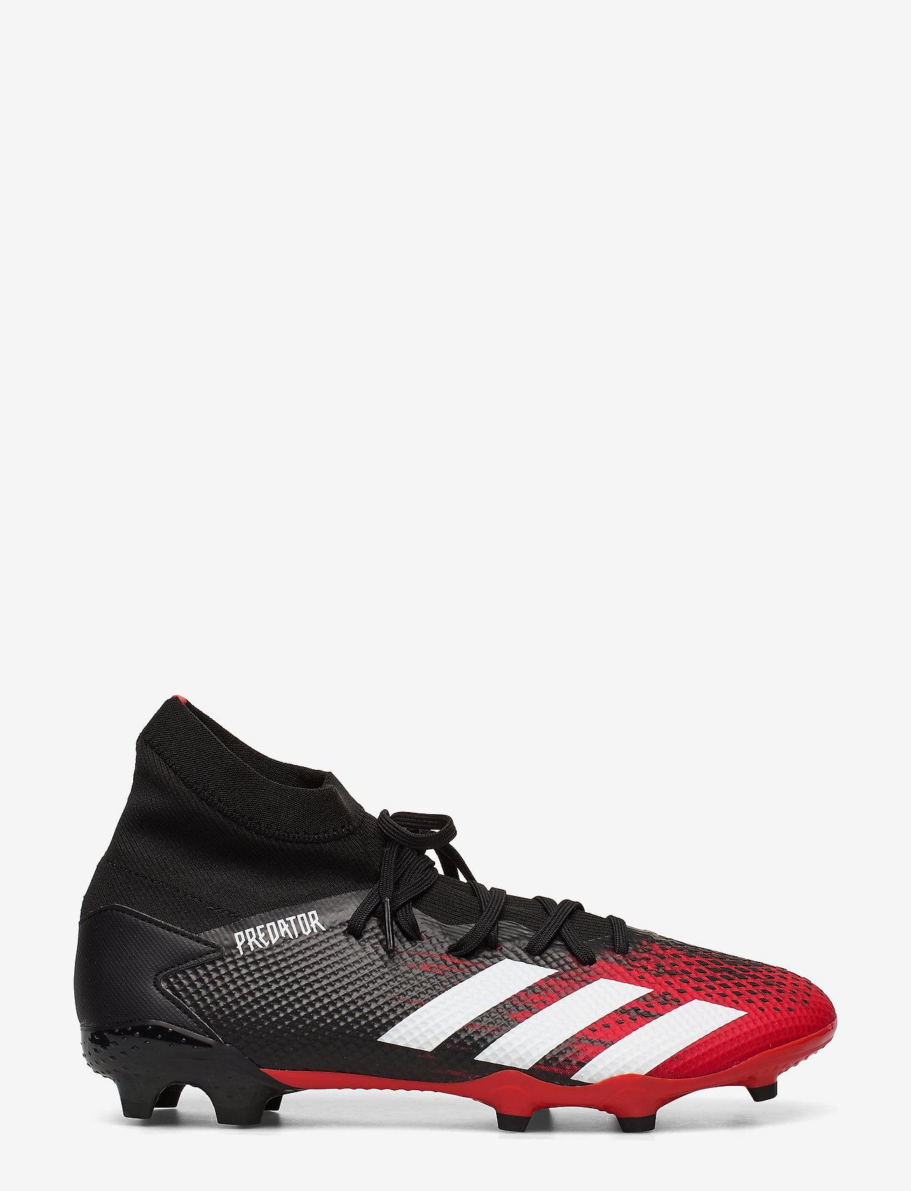 adidas Performance - PREDATOR 20.3 FG - fodboldsko - cblack/ftwwht/actred - 1