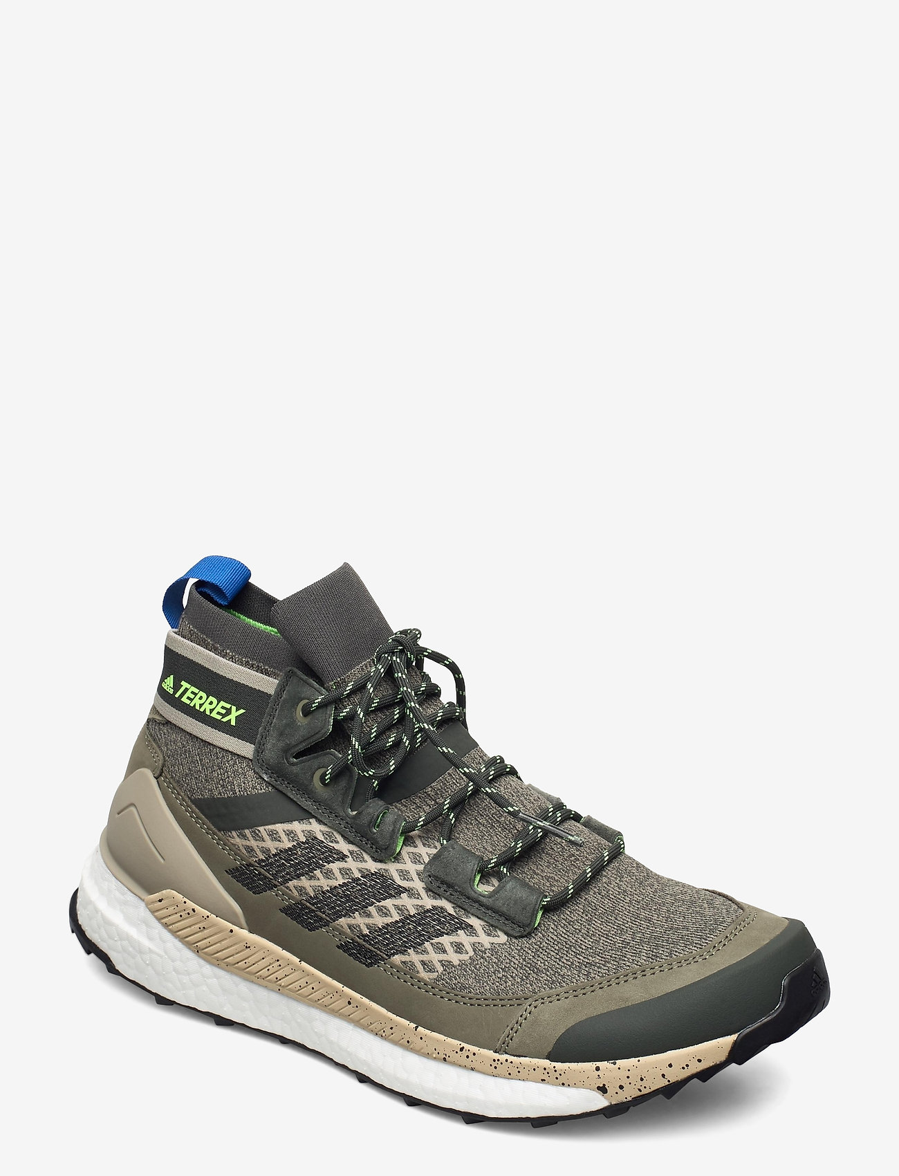 adidas Performance - Terrex Free Hiker Blue Hiking - chaussures de randonnée - leggrn/cblack/siggnr - 0