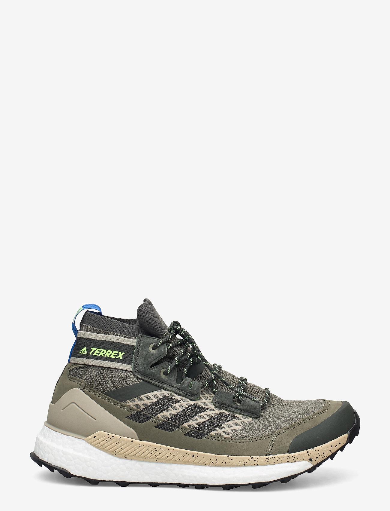 adidas Performance - Terrex Free Hiker Blue Hiking - chaussures de randonnée - leggrn/cblack/siggnr - 1