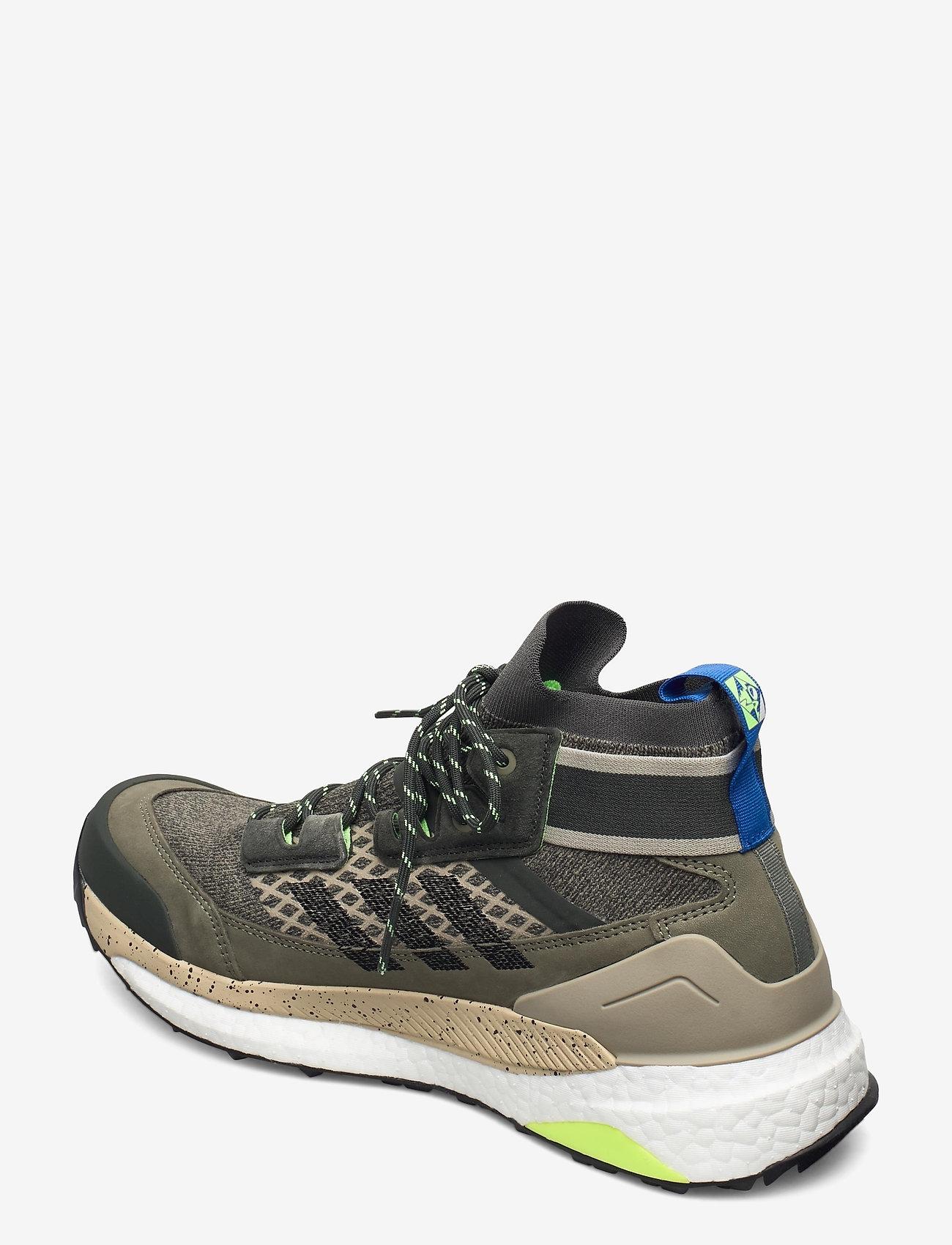 adidas Performance - Terrex Free Hiker Blue Hiking - chaussures de randonnée - leggrn/cblack/siggnr - 2