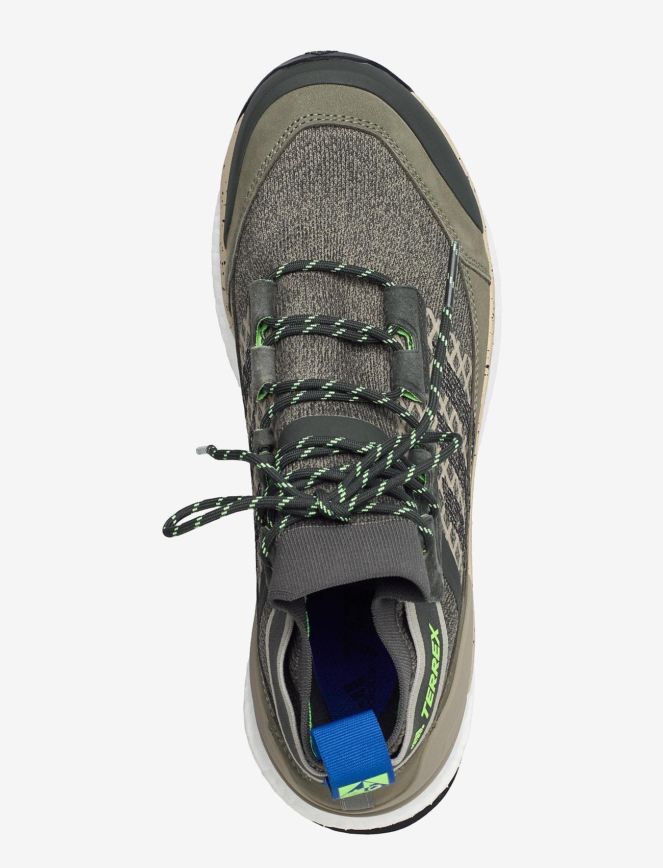 adidas Performance - Terrex Free Hiker Blue Hiking - chaussures de randonnée - leggrn/cblack/siggnr - 3