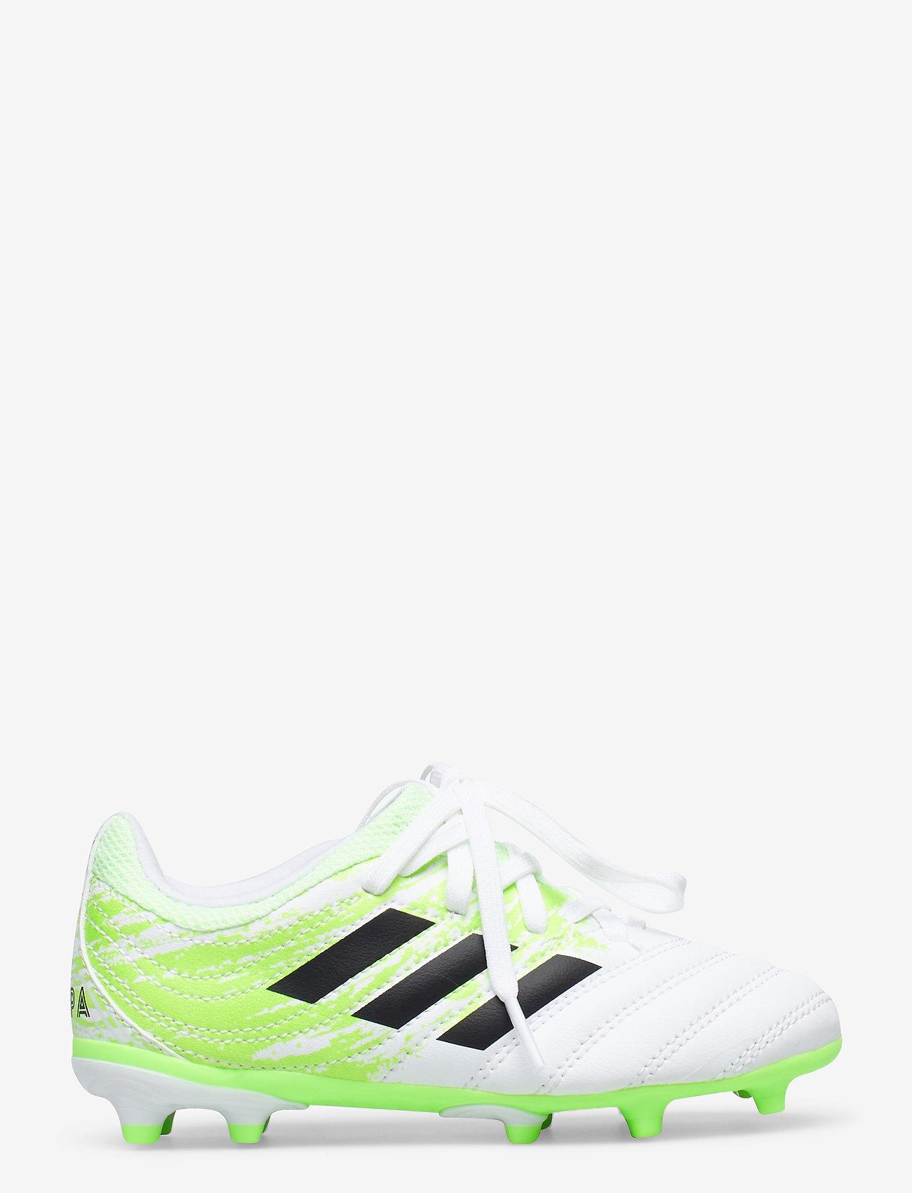 adidas Performance - COPA 20.3 FG J - buty sportowe - ftwwht/cblack/siggnr - 1