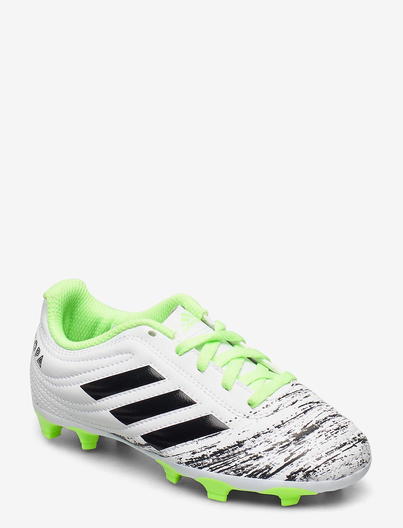 adidas Performance - COPA 20.4 FG J - buty sportowe - ftwwht/cblack/siggnr - 0