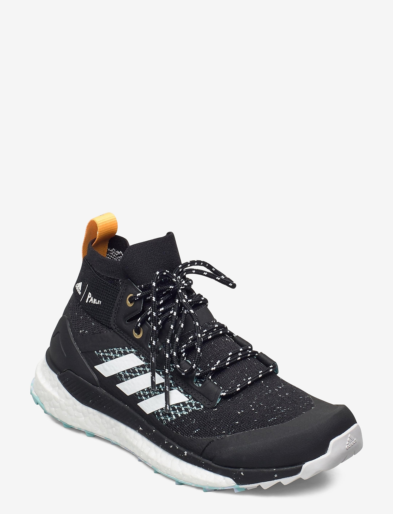 adidas Performance - Terrex Free Hiker Parley Hiking W - wanderschuhe - cblack/ftwwht/reagol - 0