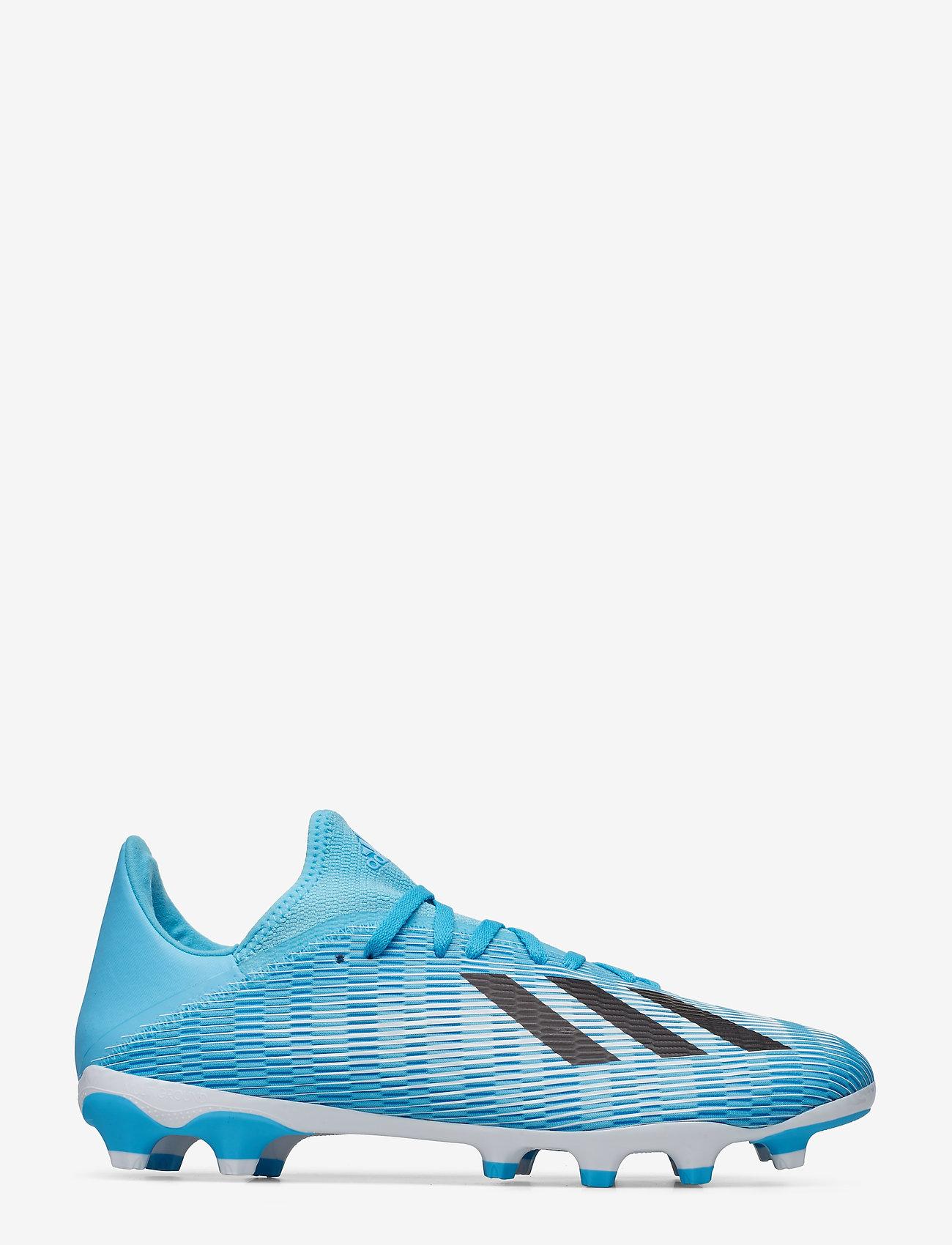 adidas Performance - X 19.3 MG - jalkapallokengät - brcyan/cblack/shopnk - 1