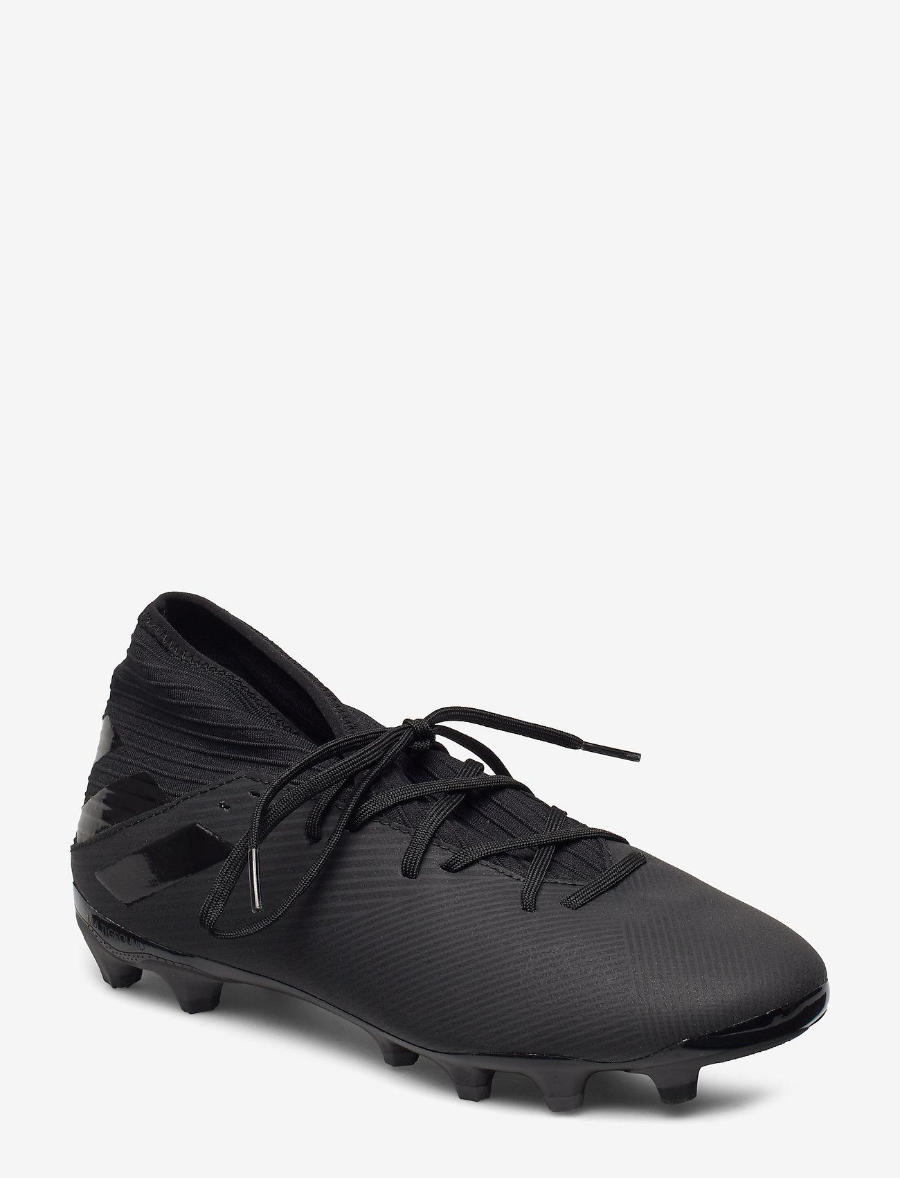 adidas Performance - NEMEZIZ 19.3 MG - jalkapallokengät - cblack/cblack/utiblk - 0