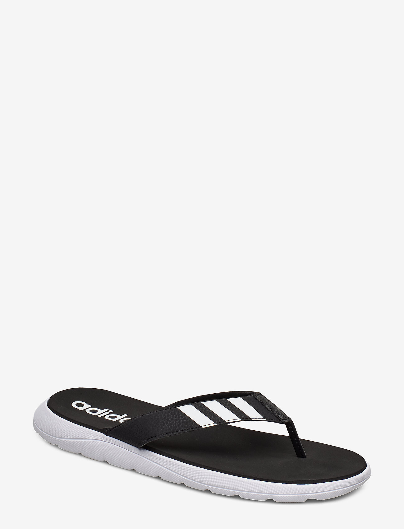 adidas Performance - Comfort Flip-Flops - sport schoenen - cblack/ftwwht/cblack - 0