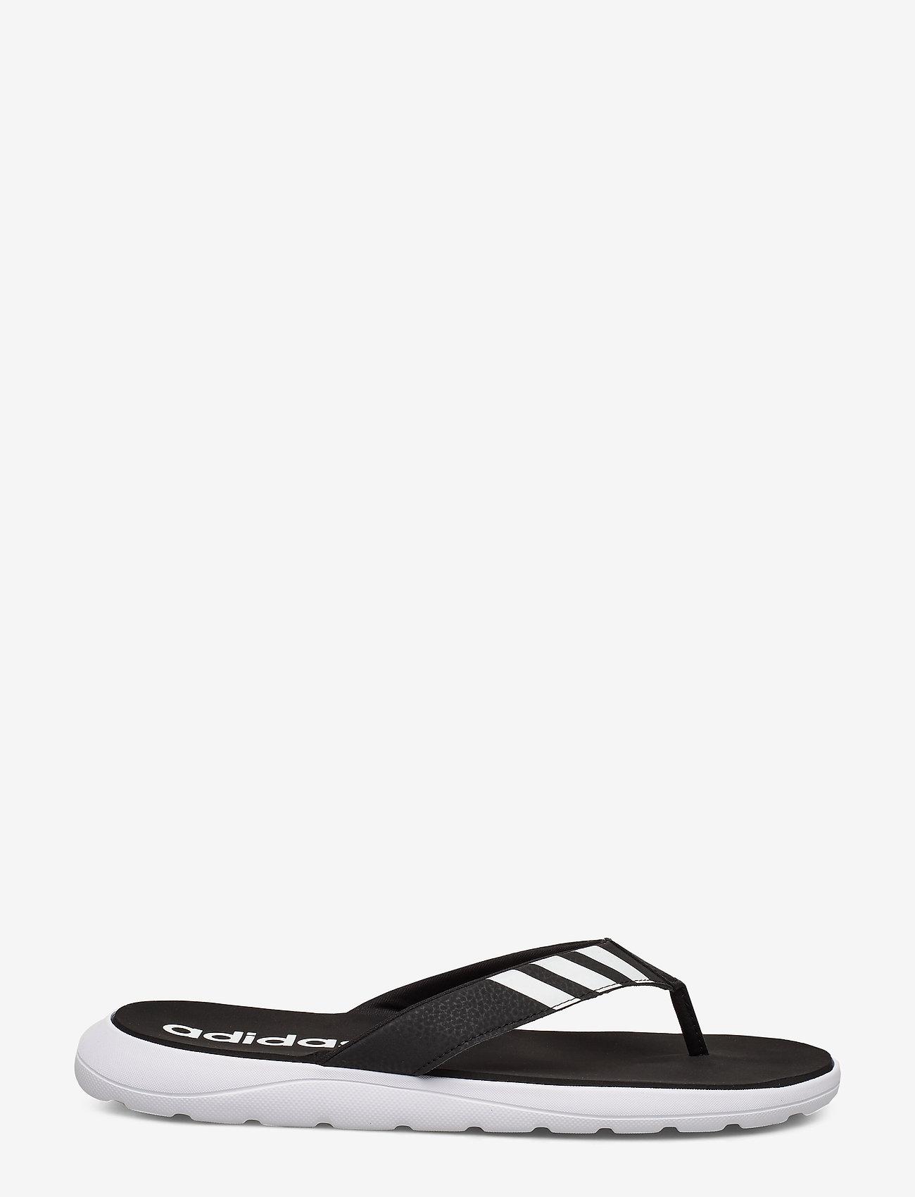 adidas Performance - Comfort Flip-Flops - sport schoenen - cblack/ftwwht/cblack - 1