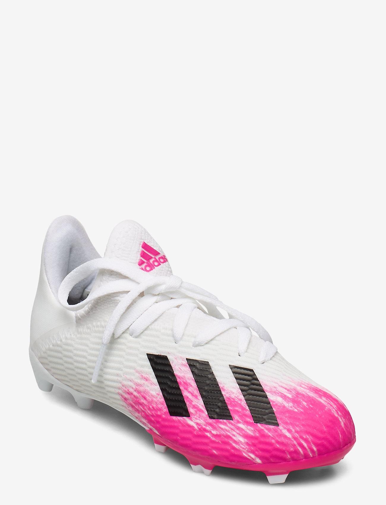 adidas Performance - X 19.3 FG J - buty sportowe - ftwwht/cwhite/shopnk - 0