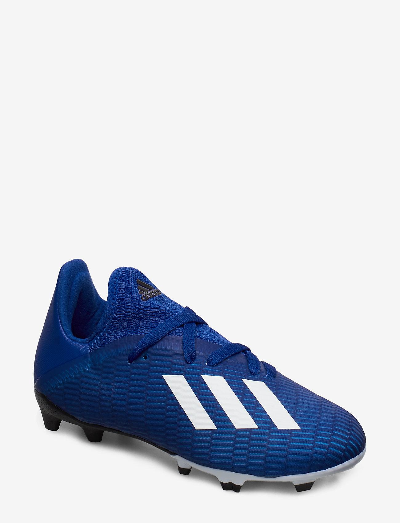 adidas Performance - X 19.3 FG J - buty piłkarskie - royblu/ftwwht/cblack - 0
