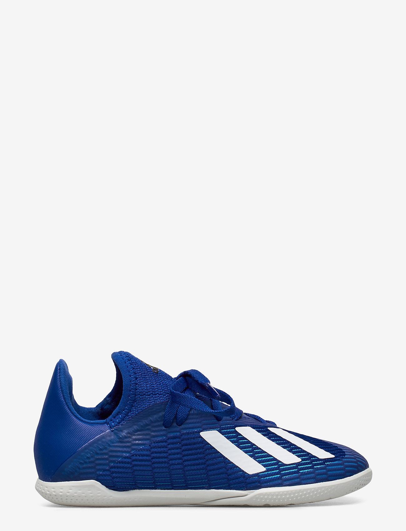 adidas Performance - X 19.3 IN J - buty piłkarskie - royblu/ftwwht/cblack - 1
