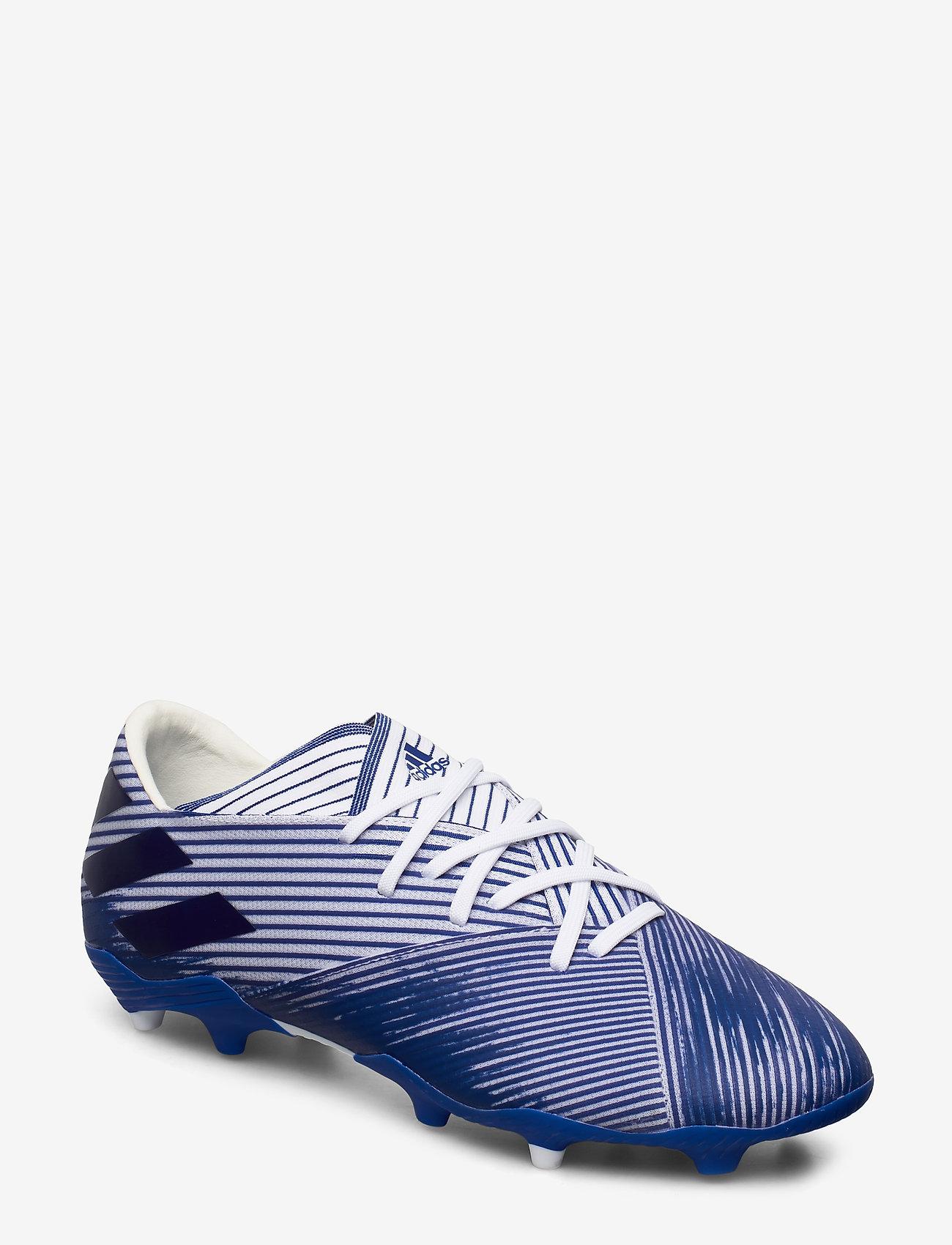 adidas Performance - NEMEZIZ 19.2 FG - jalkapallokengät - ftwwht/royblu/royblu - 0