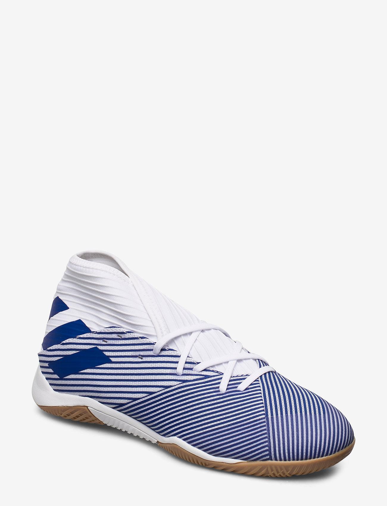 adidas Performance - NEMEZIZ 19.3 IN - jalkapallokengät - ftwwht/royblu/royblu - 0
