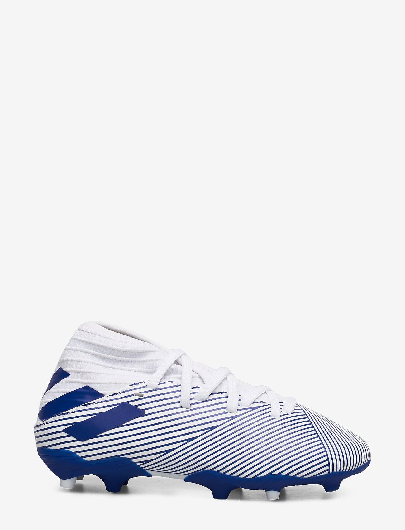 adidas Performance - NEMEZIZ 19.3 FG J - buty piłkarskie - ftwwht/royblu/royblu - 1