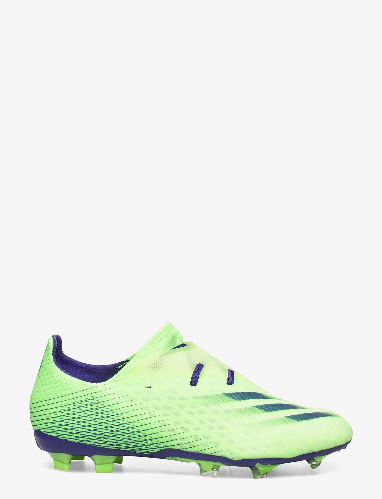 adidas Performance - X GHOSTED.2 FG - fotbollsskor - siggnr/eneink/sesosl - 1