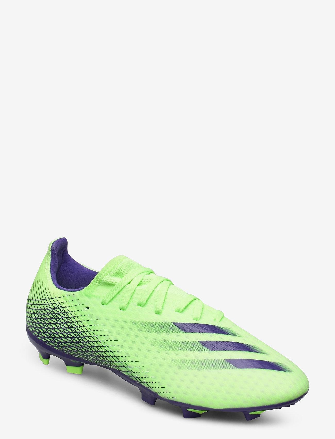adidas Performance - X GHOSTED.3 FG - fotbollsskor - siggnr/eneink/siggnr - 0