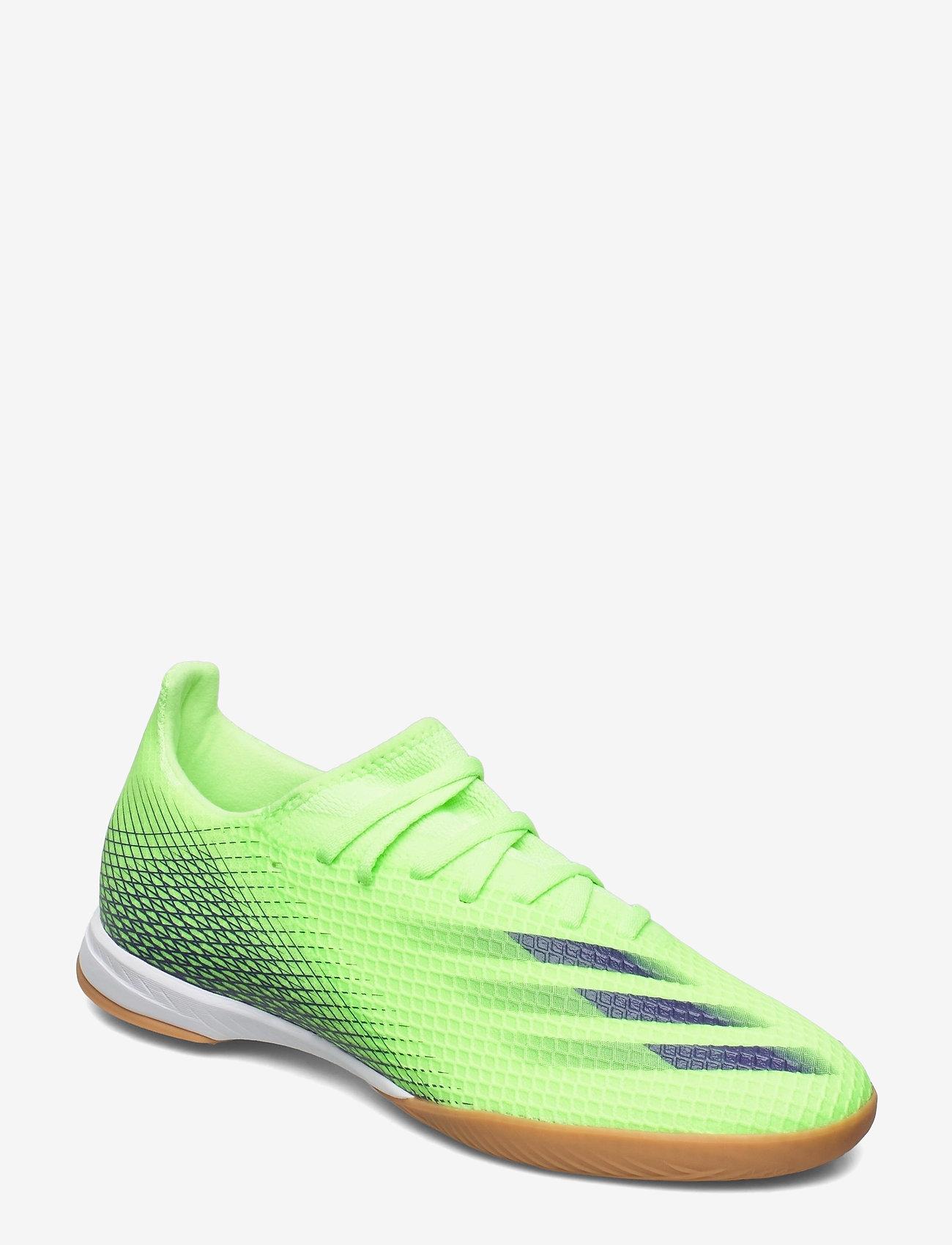 adidas Performance - X GHOSTED.3 IN - fodboldsko - siggnr/eneink/siggnr - 0