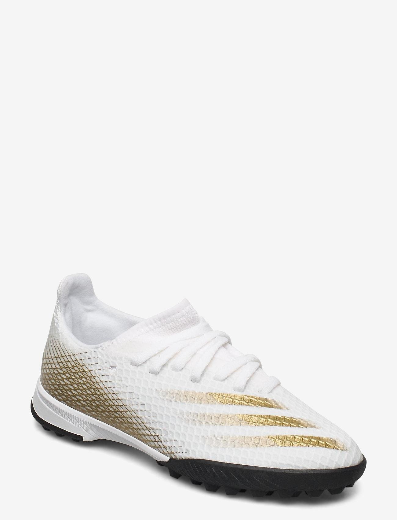adidas Performance - X GHOSTED.3 TF J - sportschuhe - ftwwht/metgol/cblack - 0