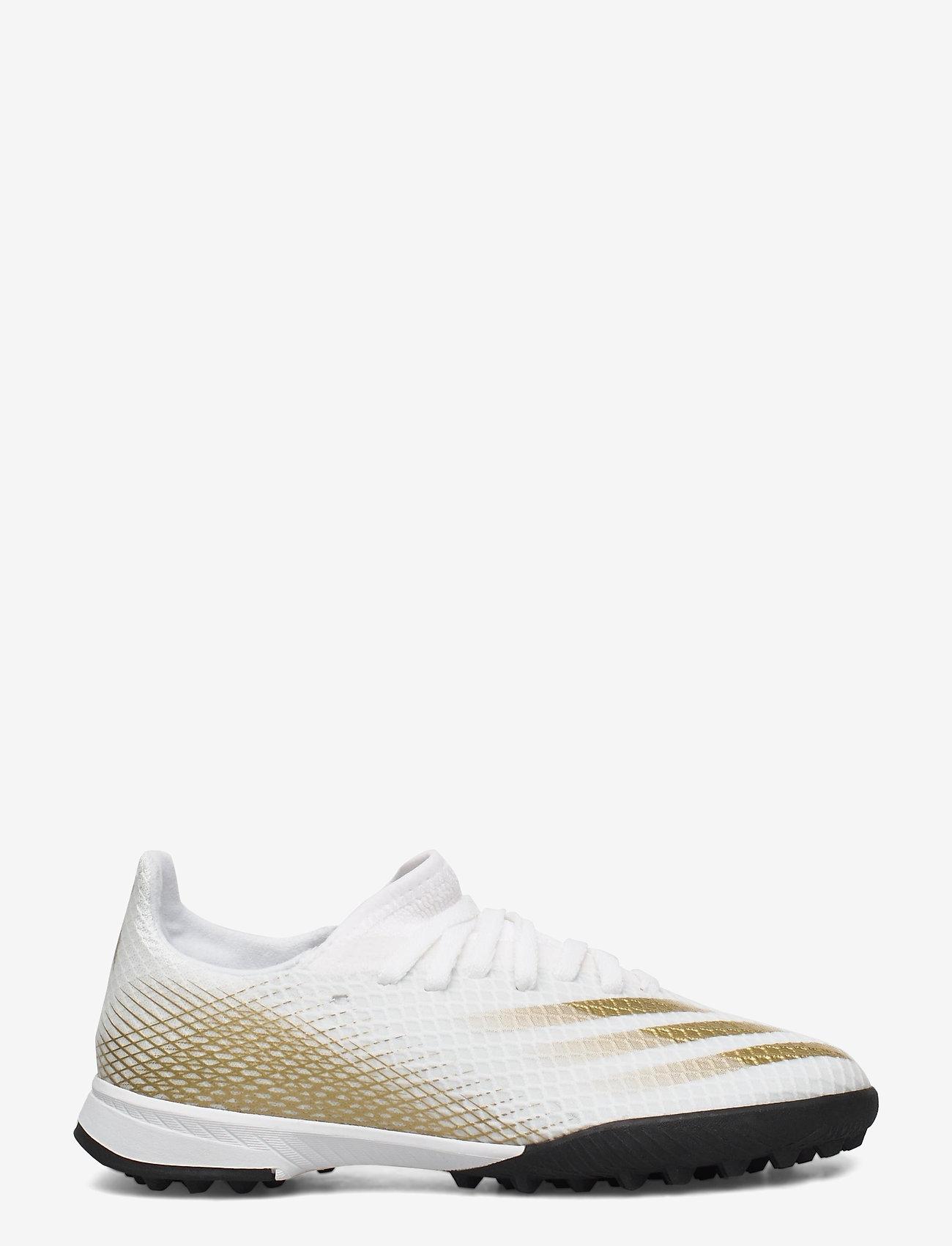 adidas Performance - X GHOSTED.3 TF J - sportschuhe - ftwwht/metgol/cblack - 1
