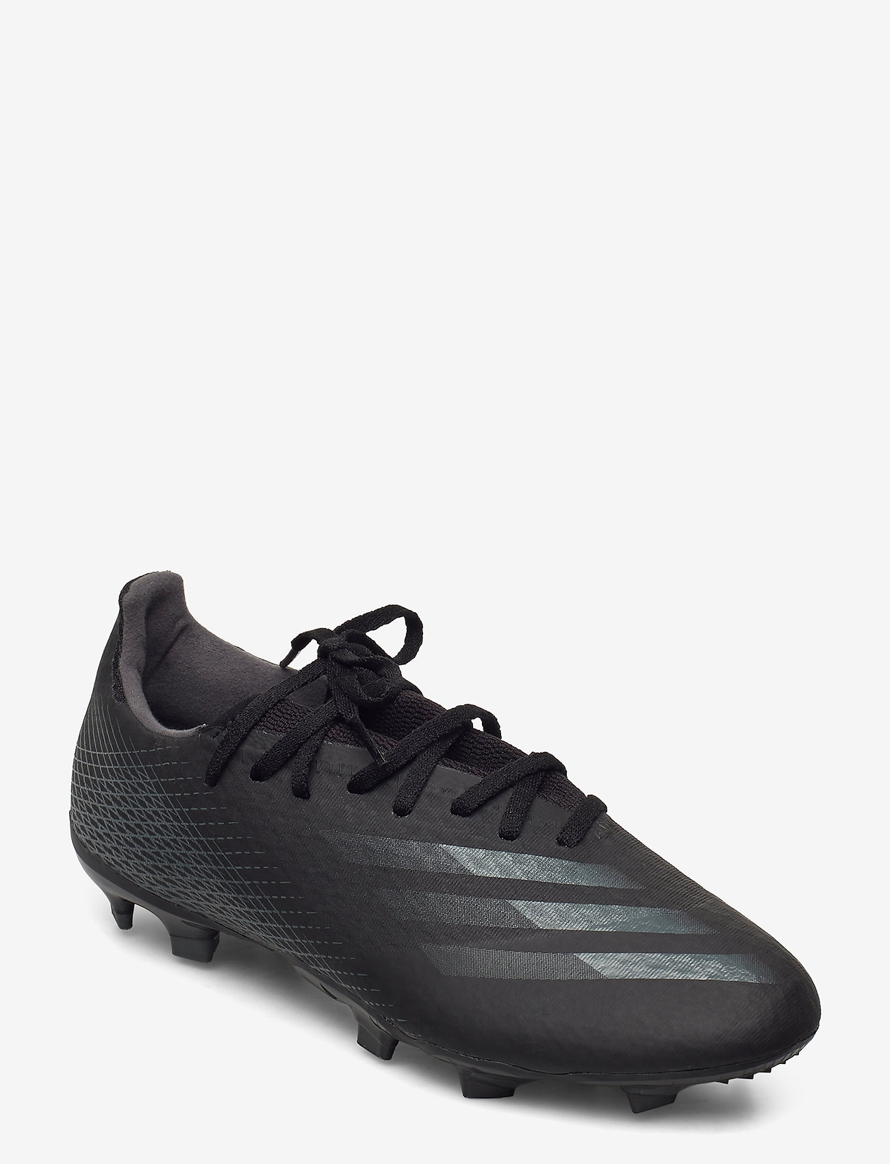 adidas Performance - X GHOSTED.3 FG - fotbollsskor - cblack/cblack/gresix - 0