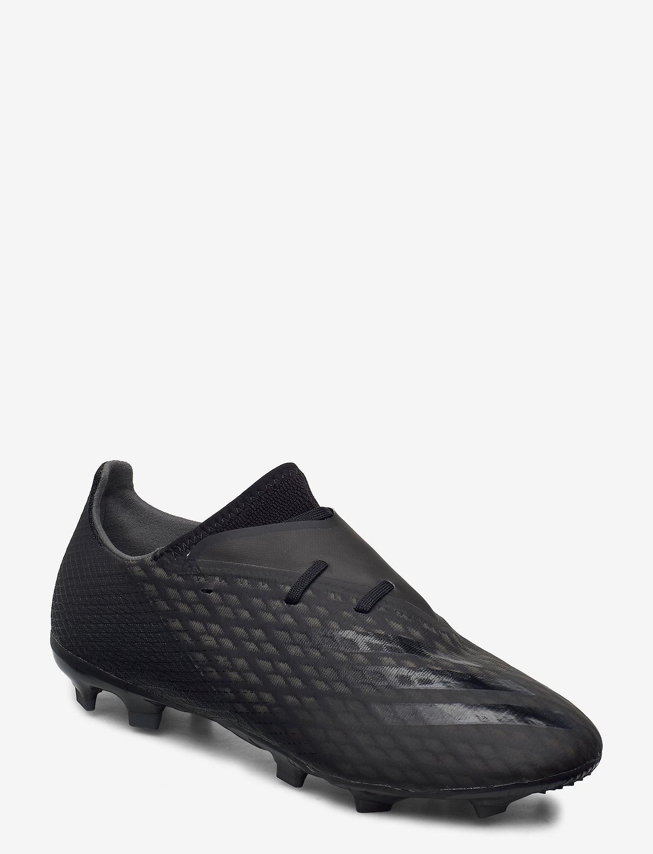adidas Performance - X GHOSTED.2 FG - fotbollsskor - cblack/cblack/gresix - 0