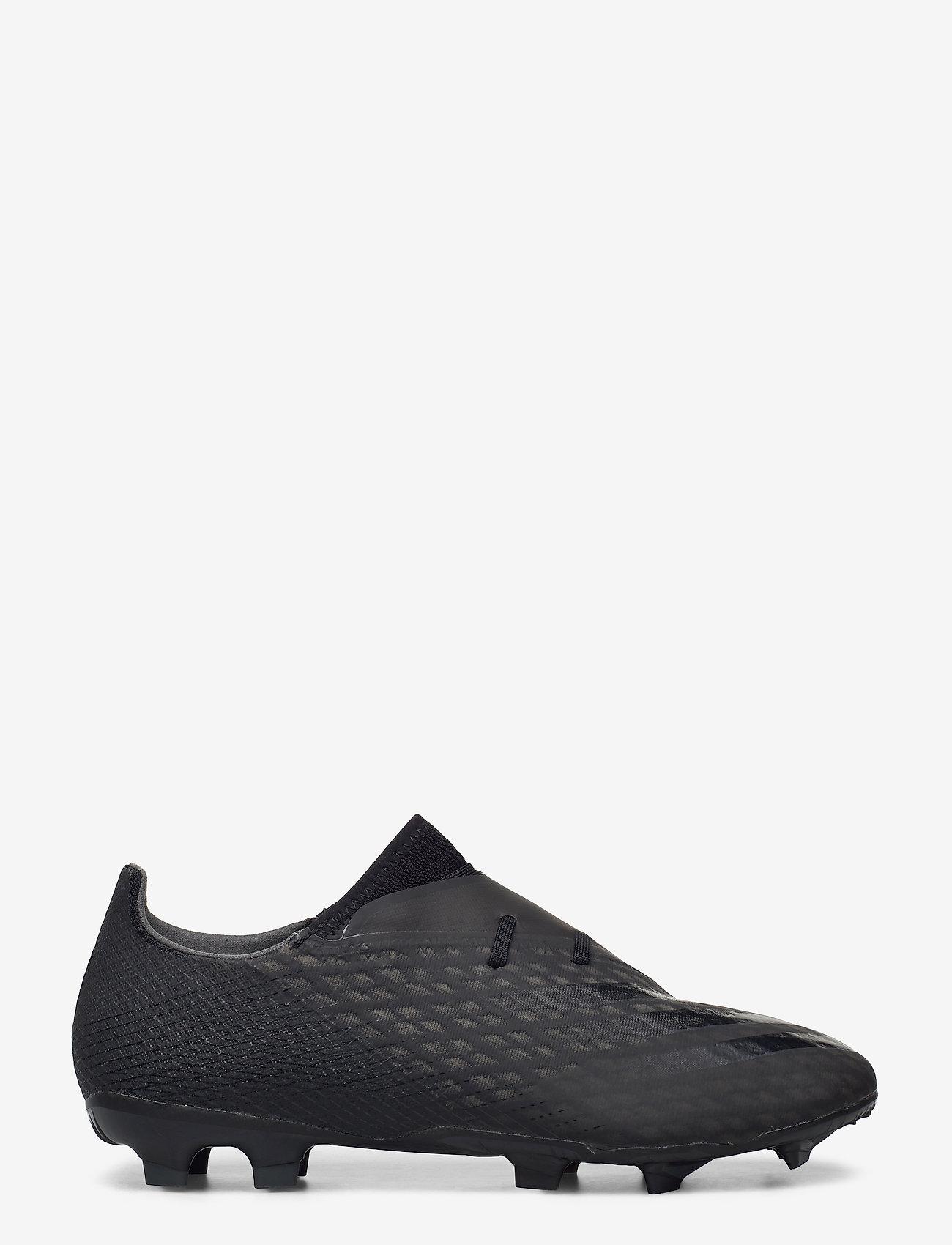 adidas Performance - X GHOSTED.2 FG - fotbollsskor - cblack/cblack/gresix - 1