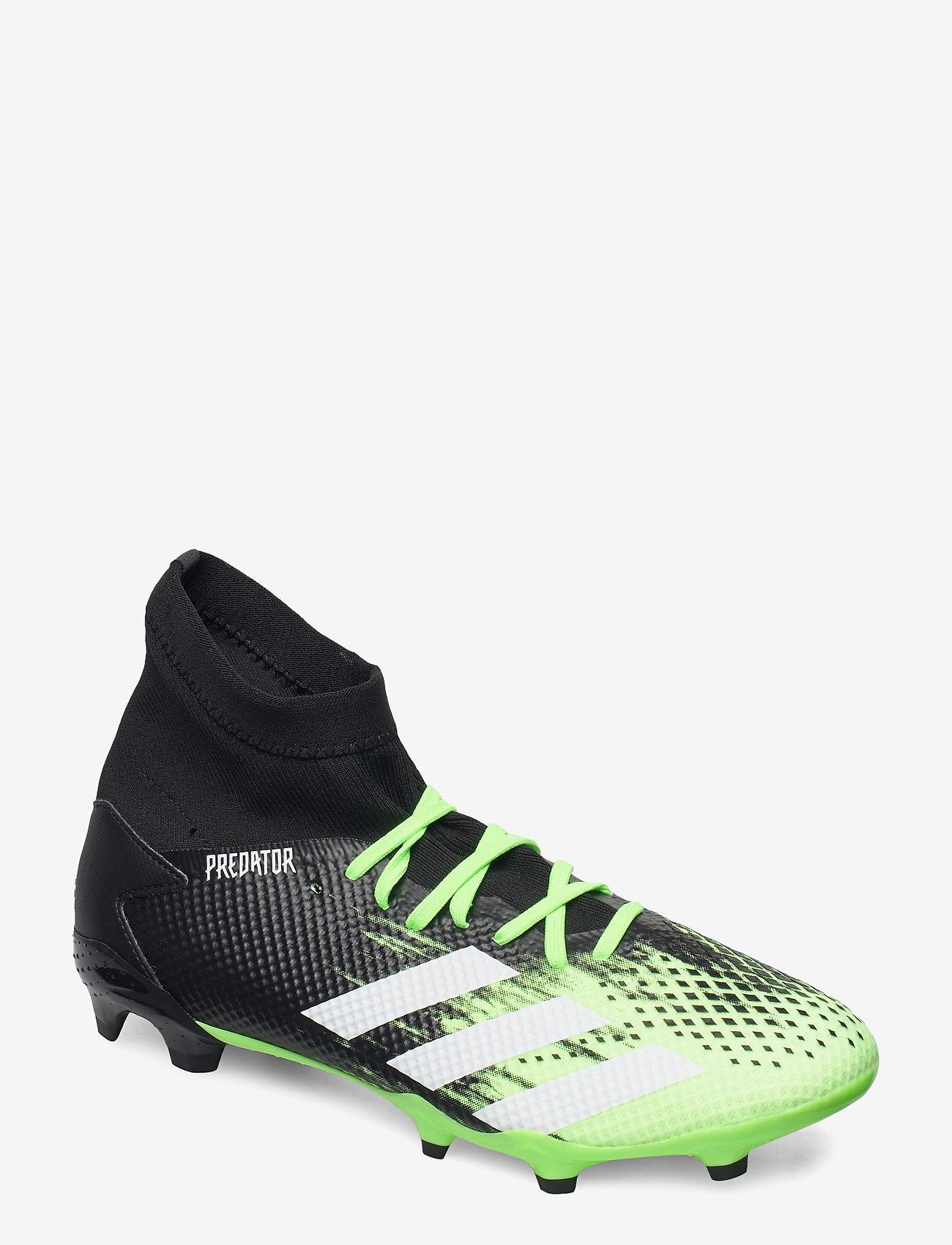 adidas Performance - PREDATOR 20.3 FG - fotballsko - siggnr/ftwwht/cblack - 0