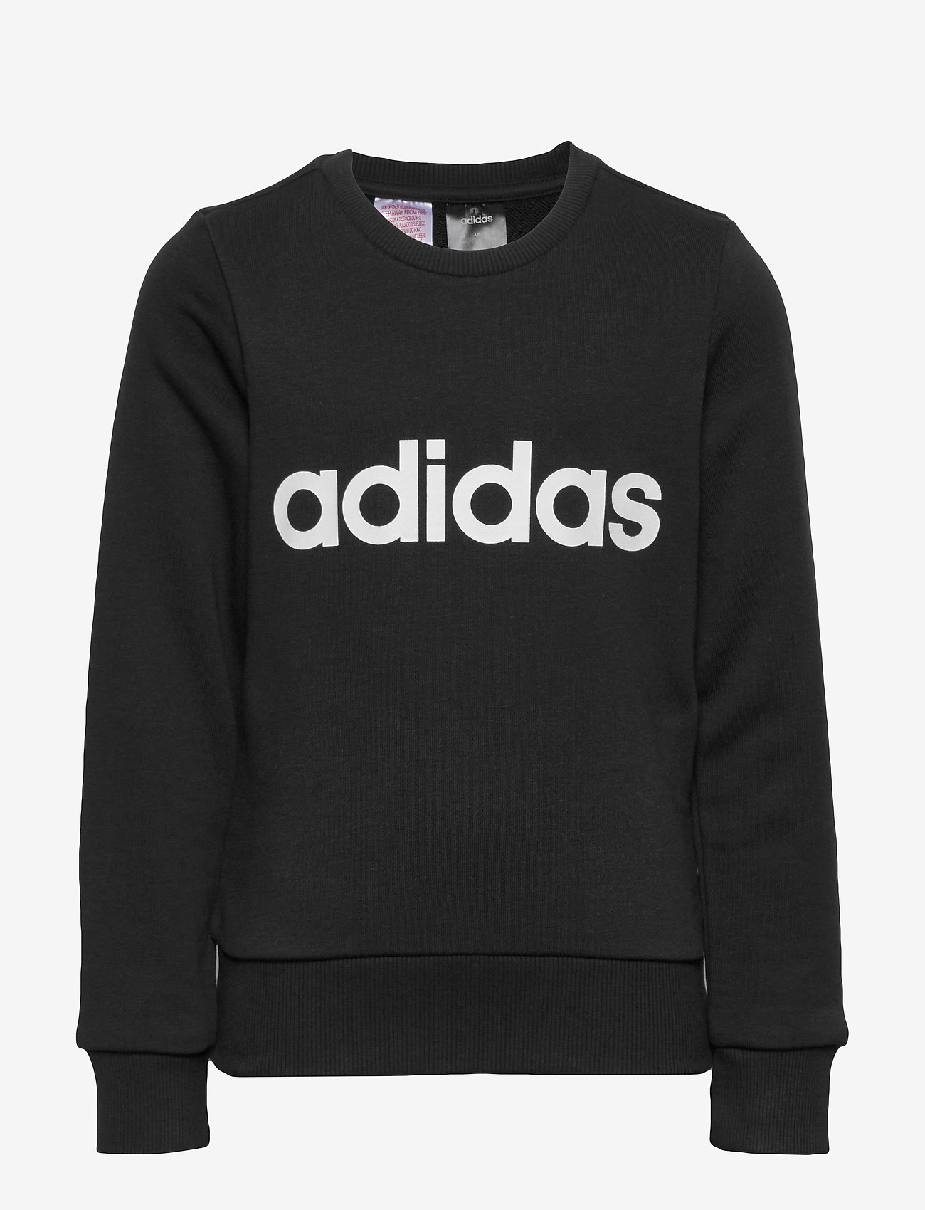 adidas Performance - YG E Lin Sweat - sweatshirts - black/white - 0