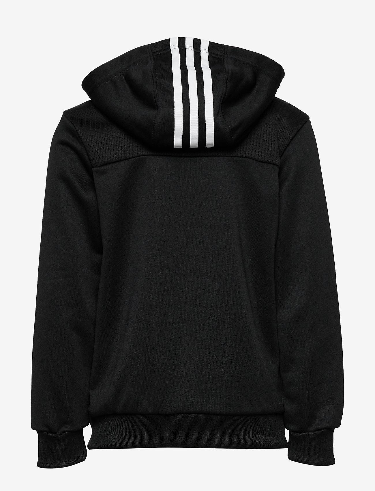 adidas Performance - YB TR 3S FZ - kapuzenpullover - black/white - 1