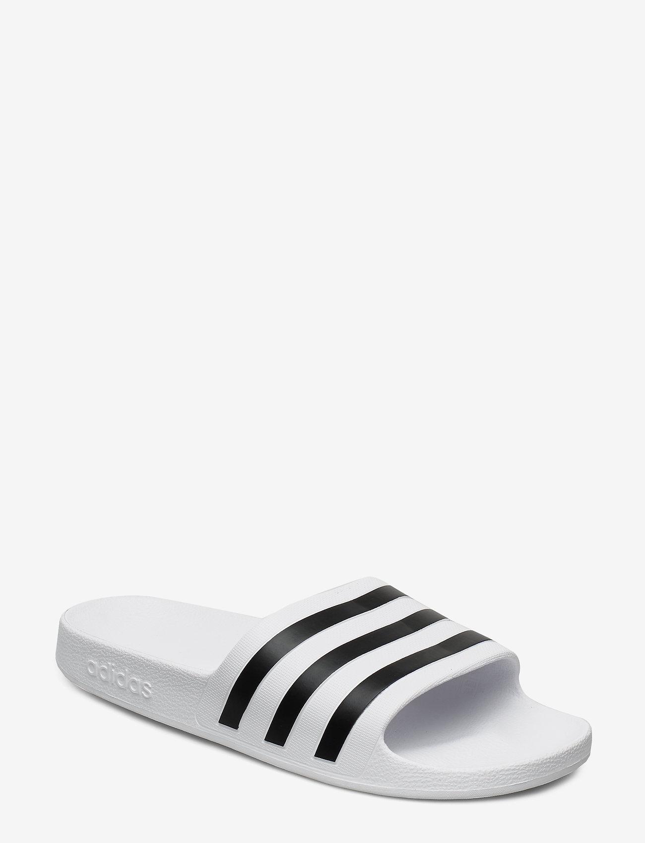 adidas Performance - ADILETTE AQUA - pool sliders - ftwwht/cblack/ftwwht - 0