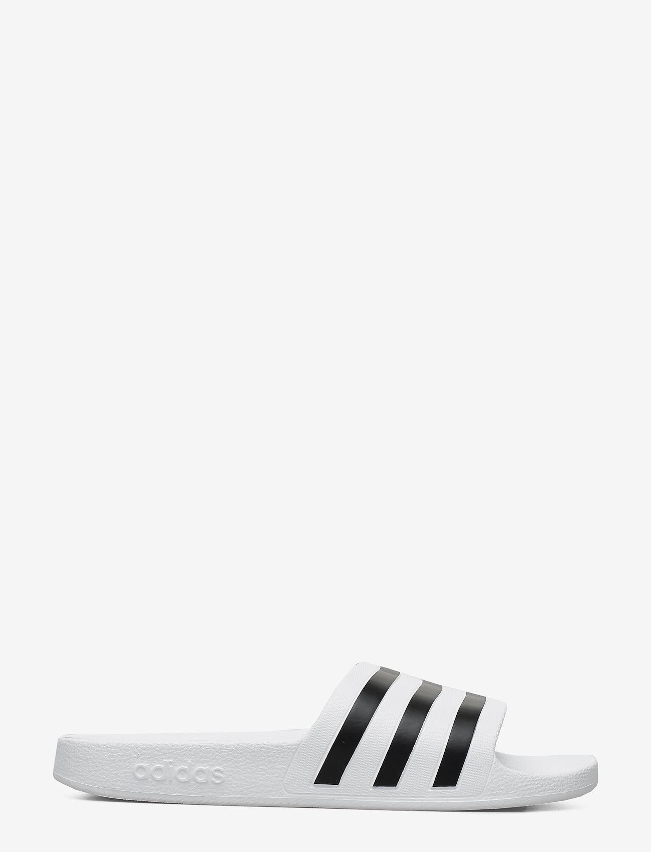 adidas Performance - ADILETTE AQUA - curseurs de piscine - ftwwht/cblack/ftwwht - 1